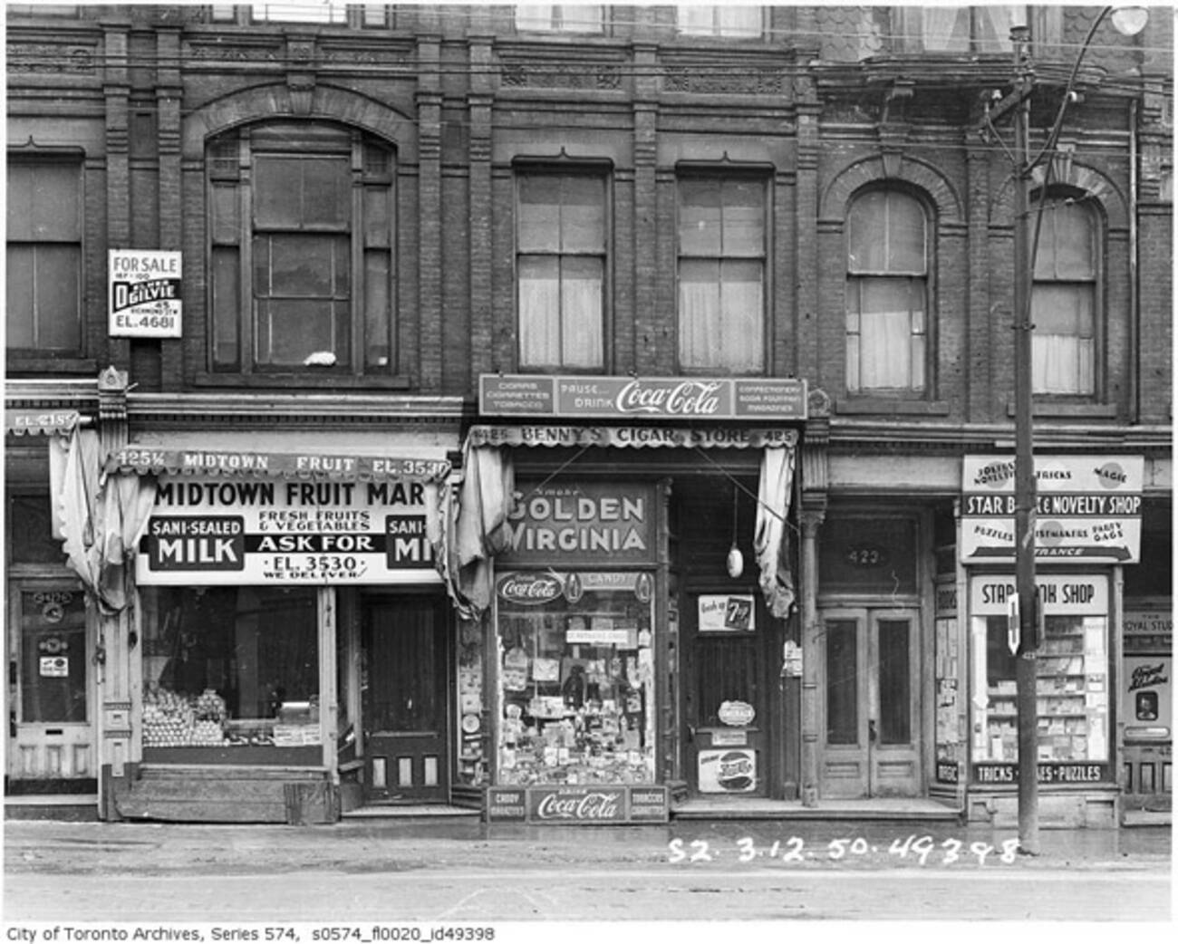 Old Montreal Shoe Stores