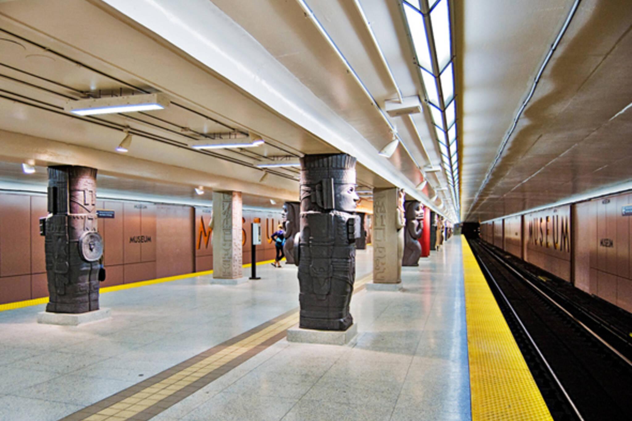 Museum Station Toronto Coolest