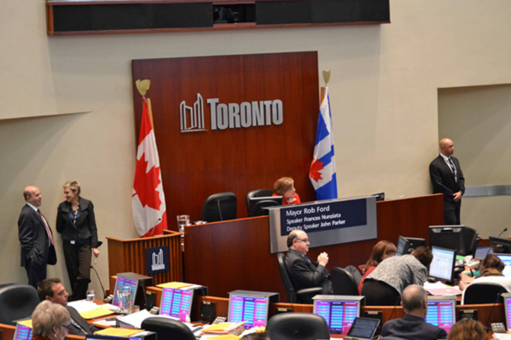 Toronto Council Special Meeting Transit