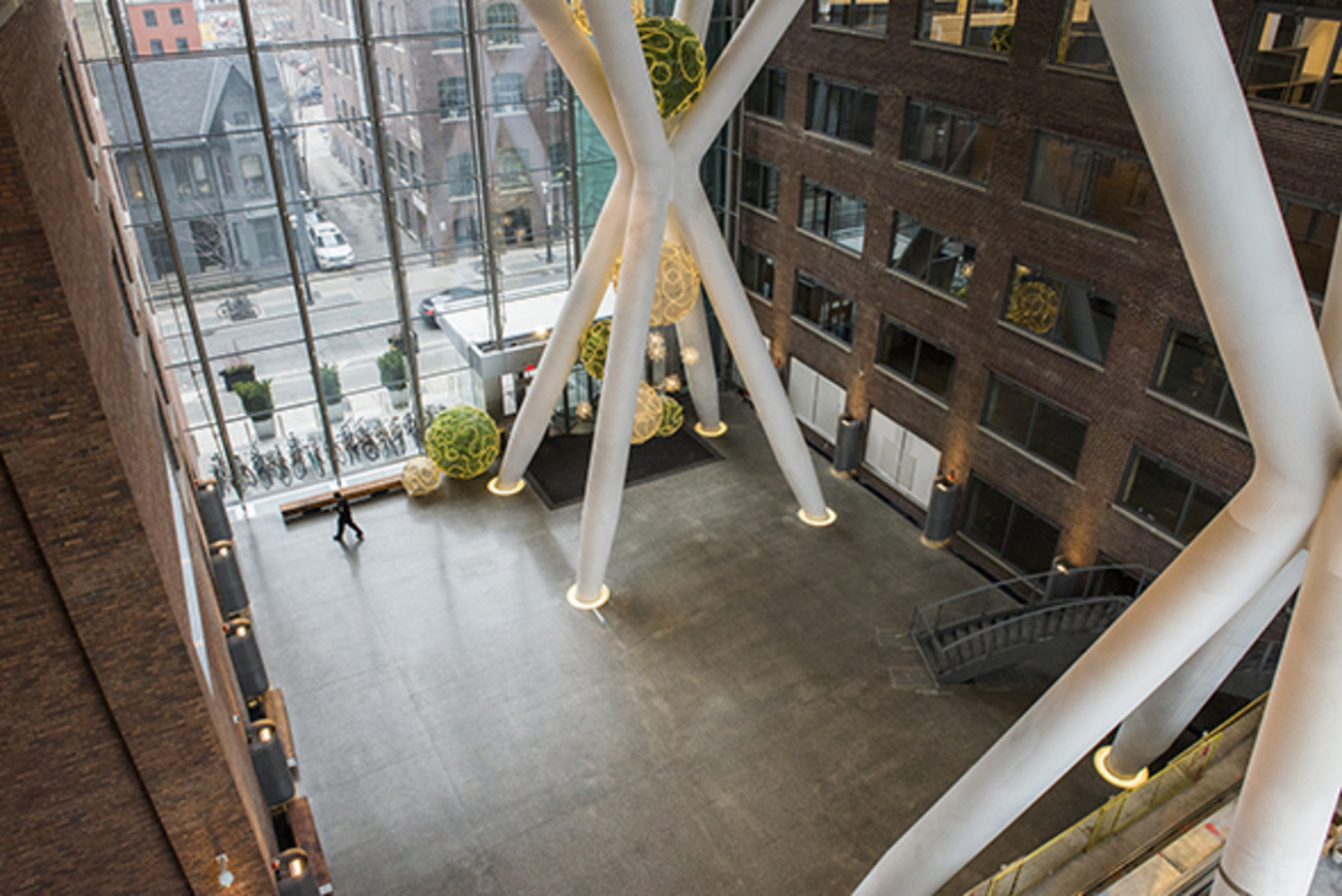 Inside the most stunning new building in Toronto