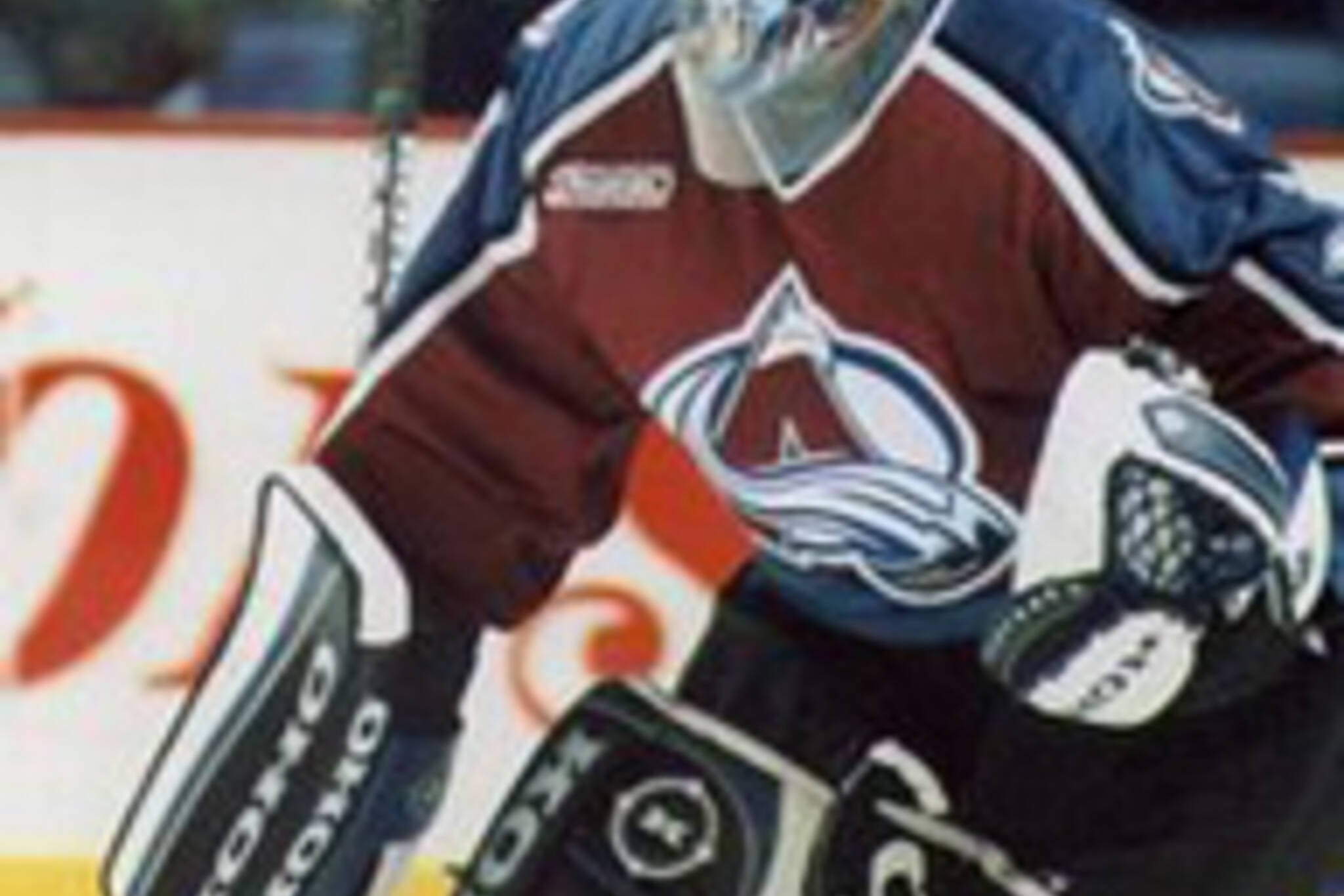 Patrick Roy - sure he wasn't playing, but man, he was great! (photo by Rick Dikeman)