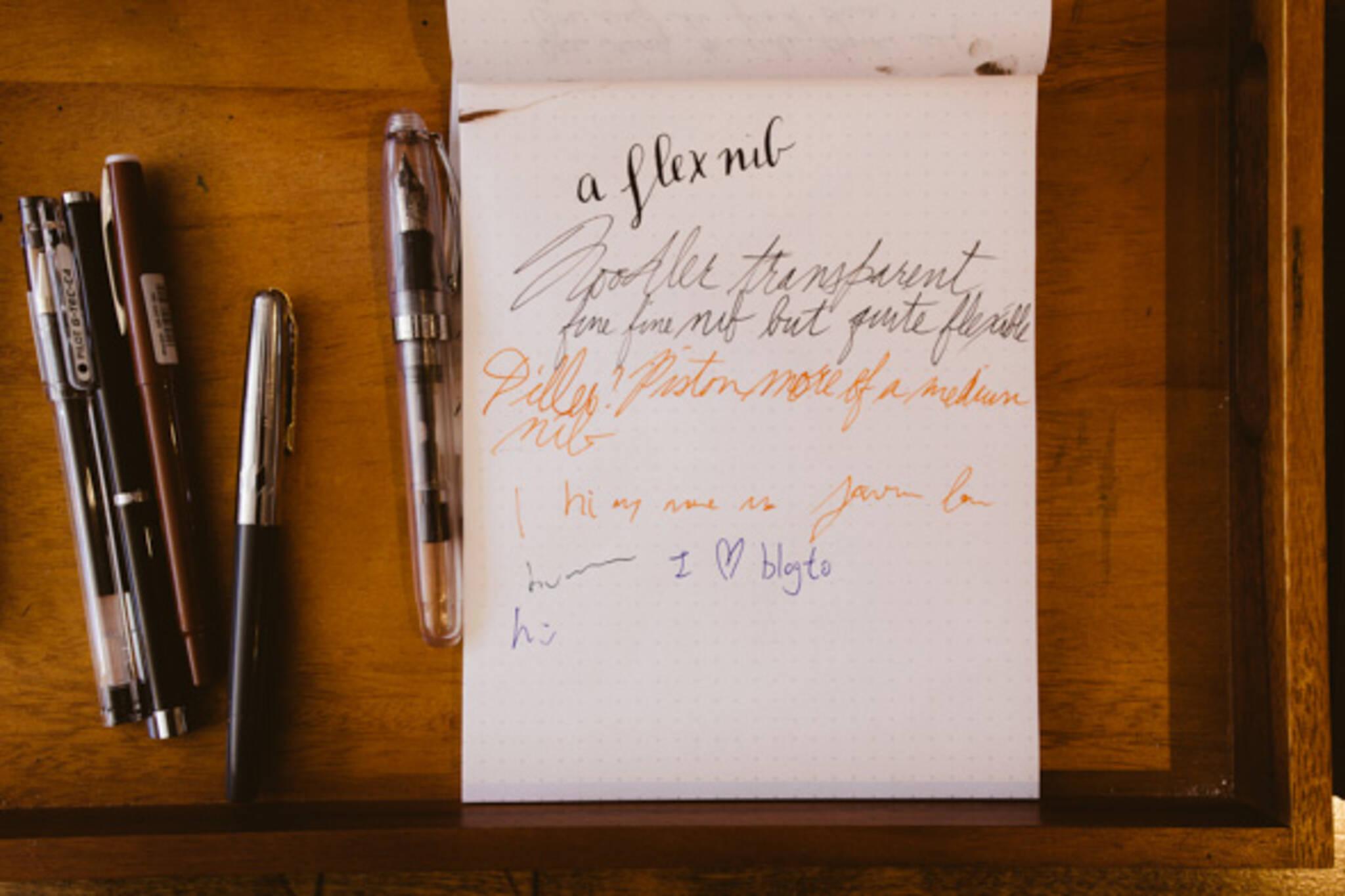 handwriting toronto