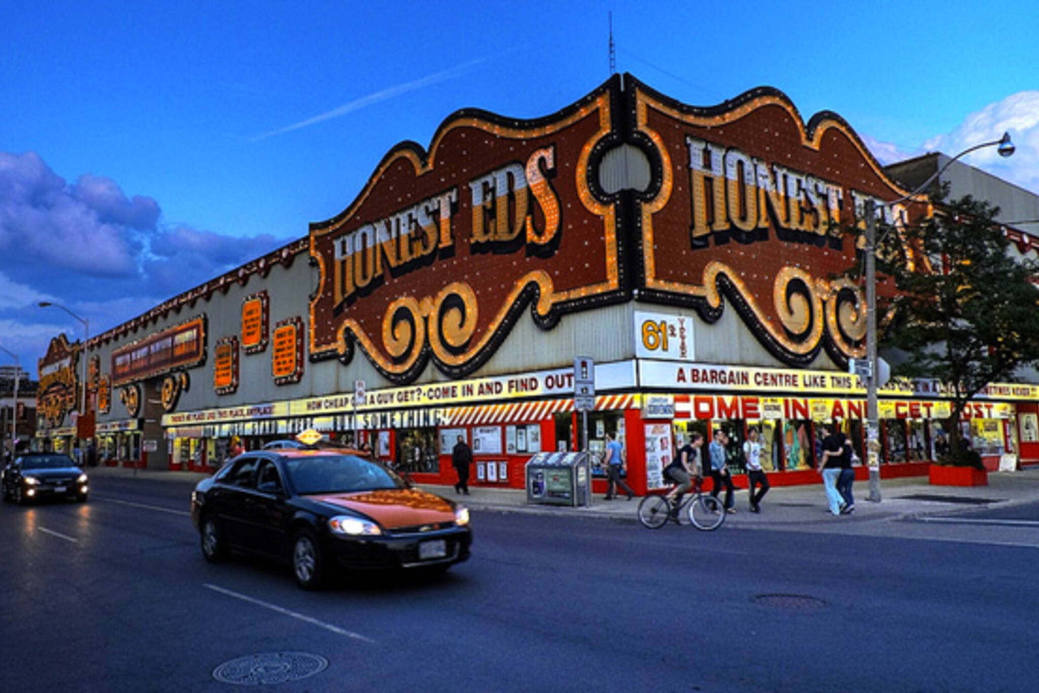 Honest Ed's Sold