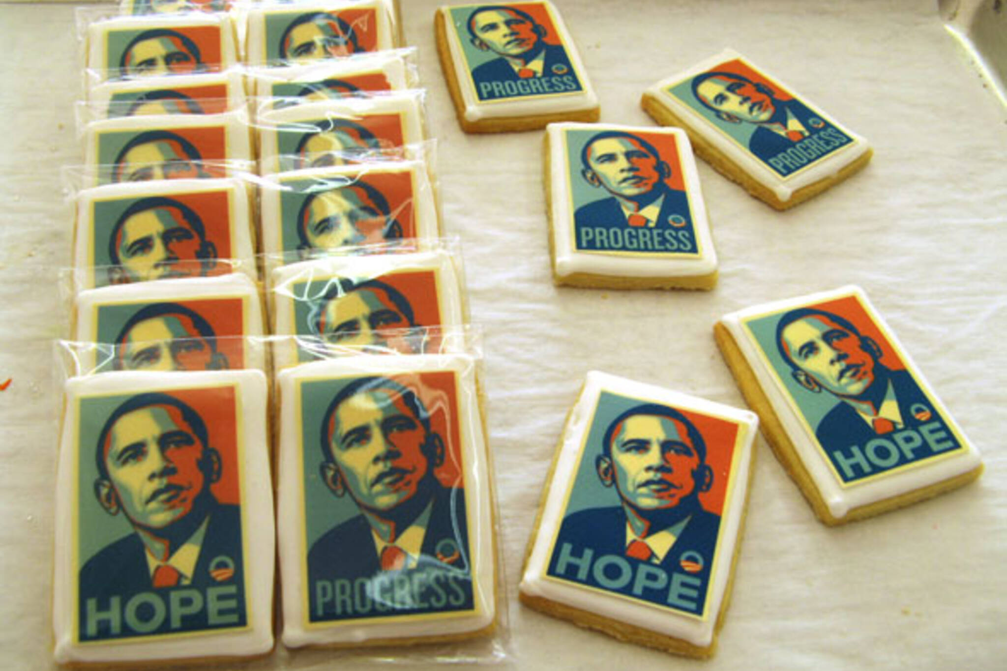 Yummy Stuff Obama Cookies