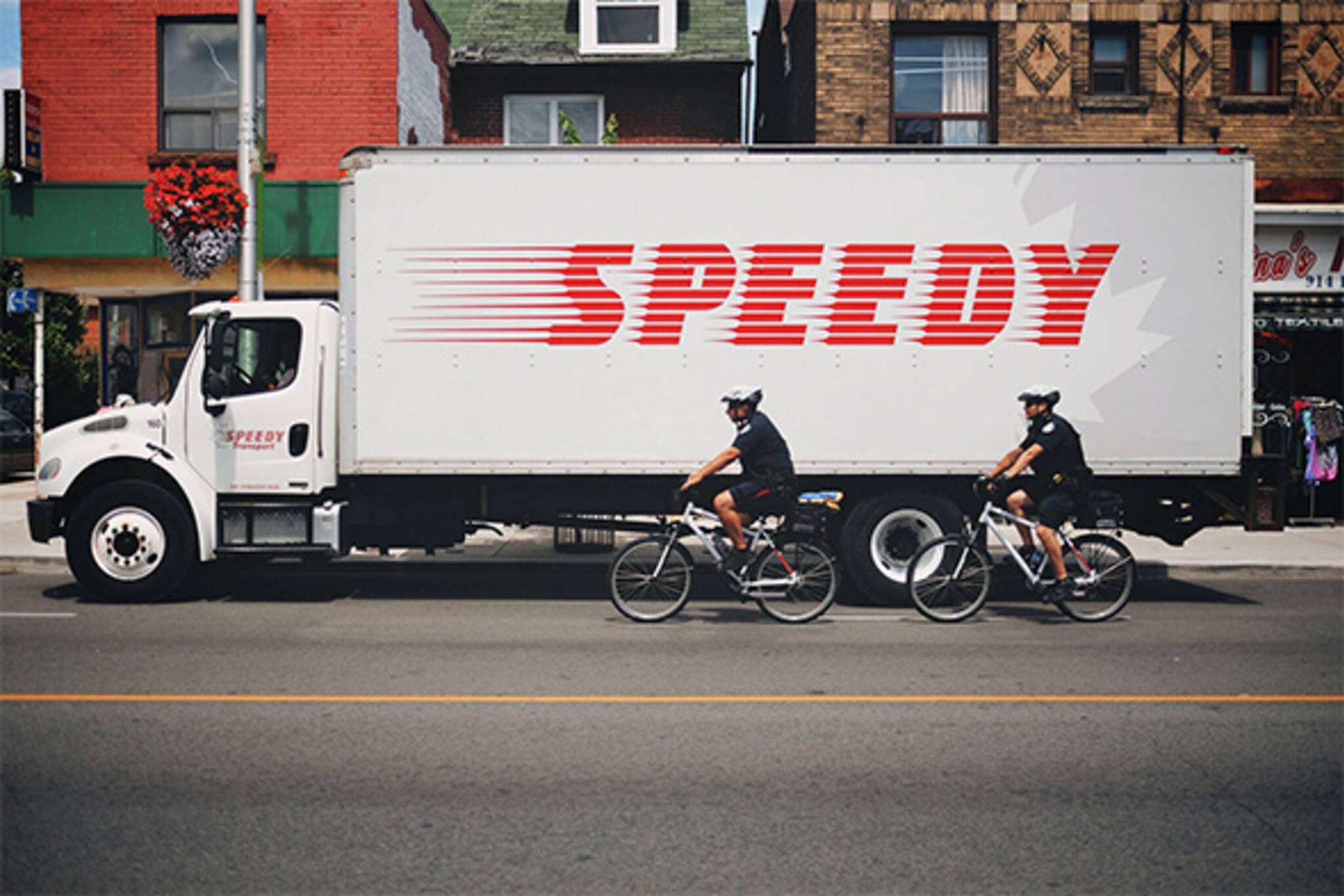 Toronto police bikes