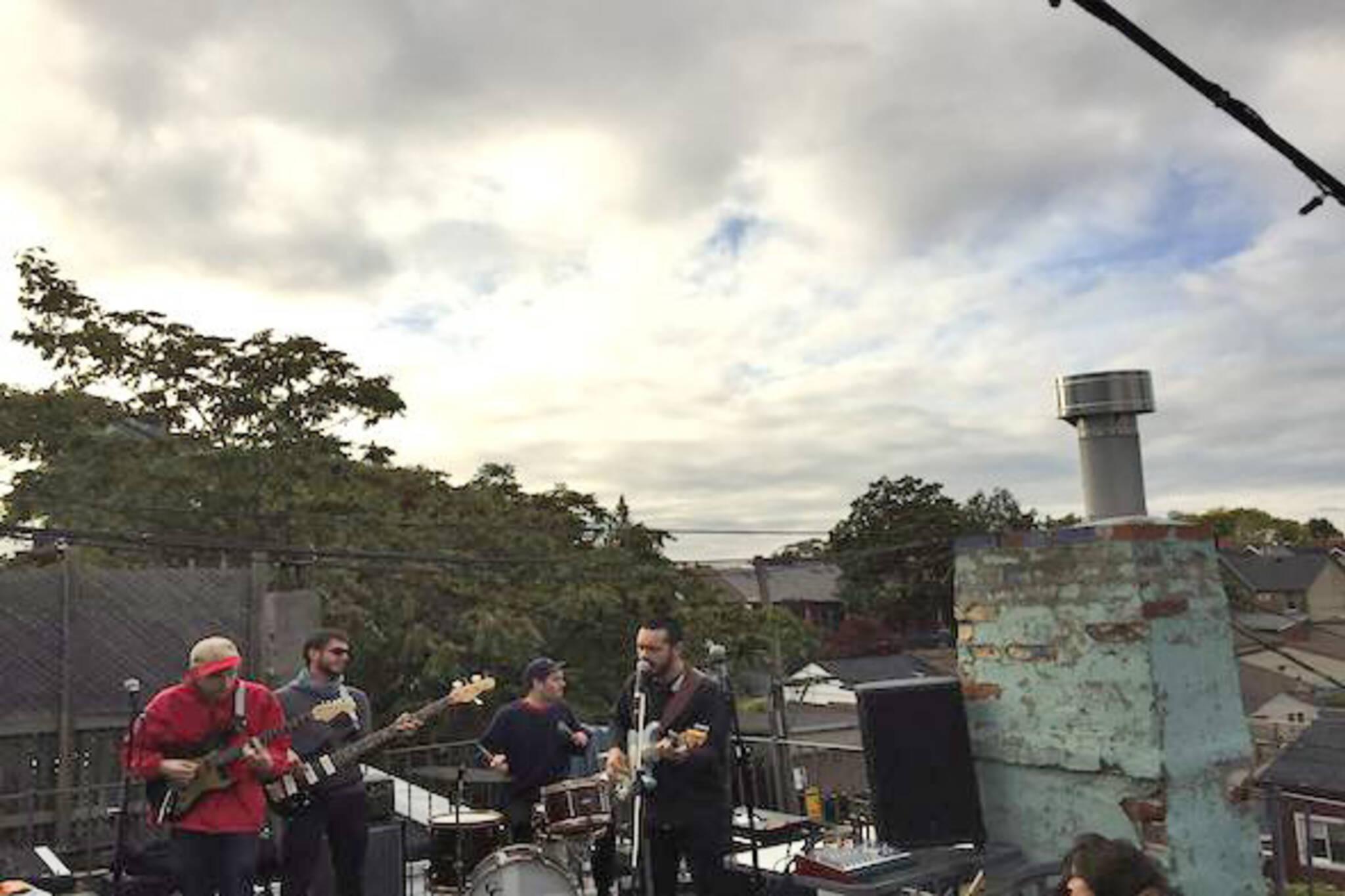 toronto rooftop concert