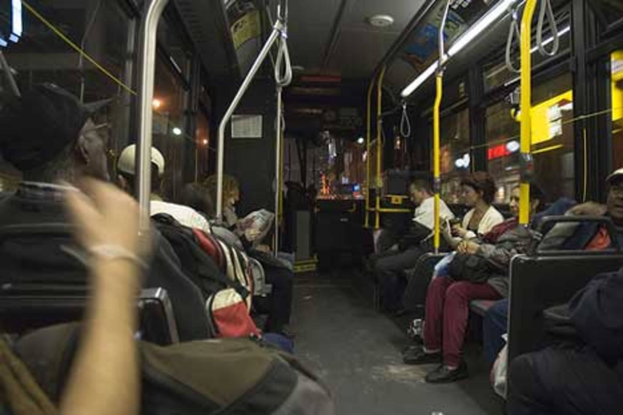 If the TTC looks favourably at 24 hour subway service, the dreay Blue-Night may be a thing of the past