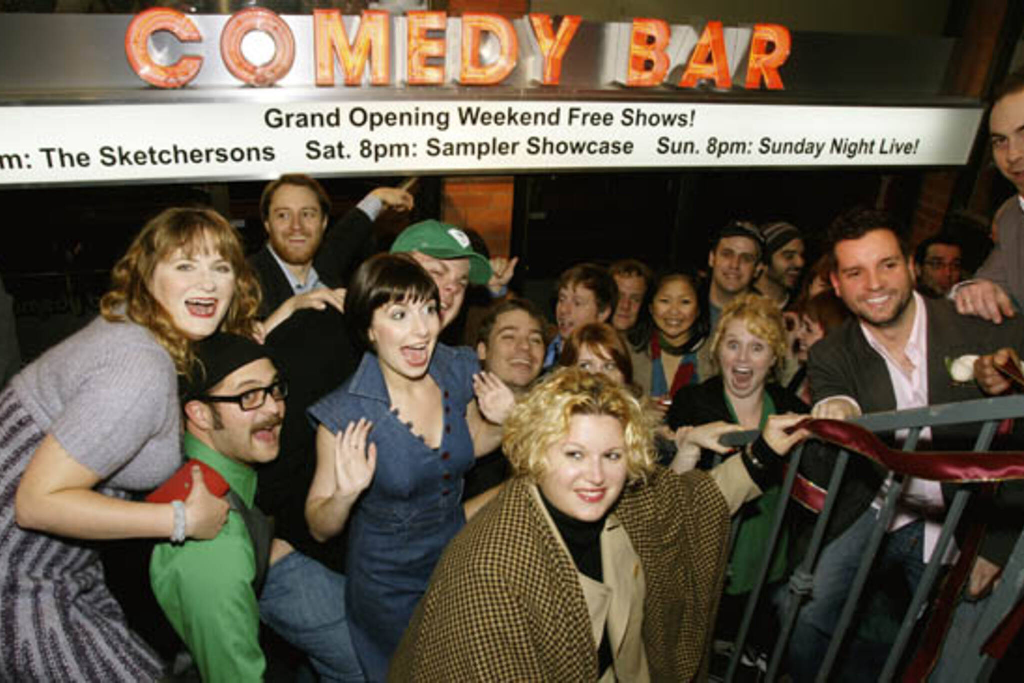 The Comedy Bar's Grand Opening in Toronto