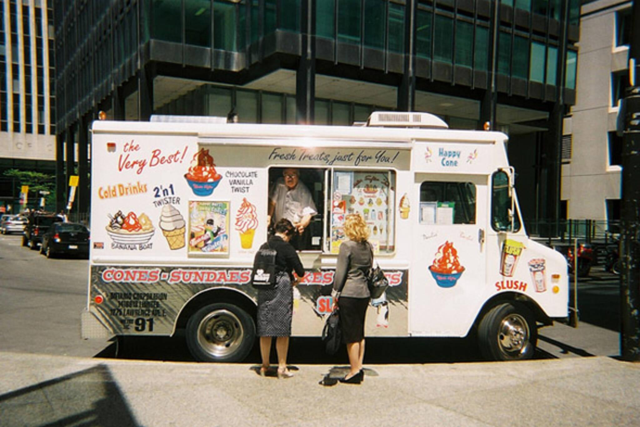 street, ice cream, king