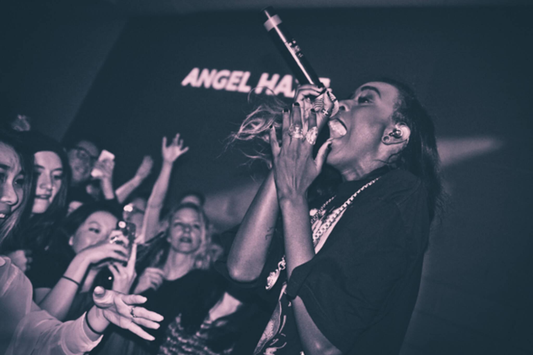 Angel Haze Toronto