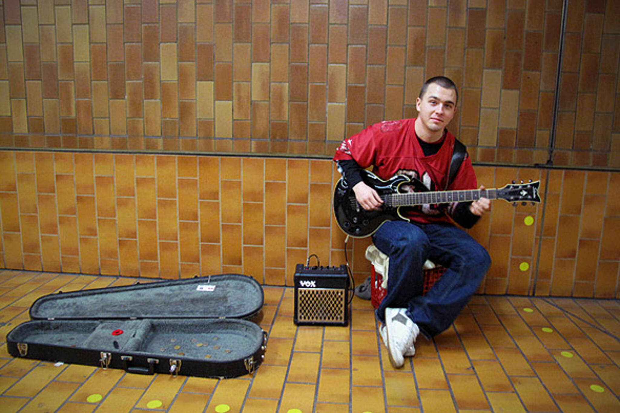 TTC Busker Ronny Cameron