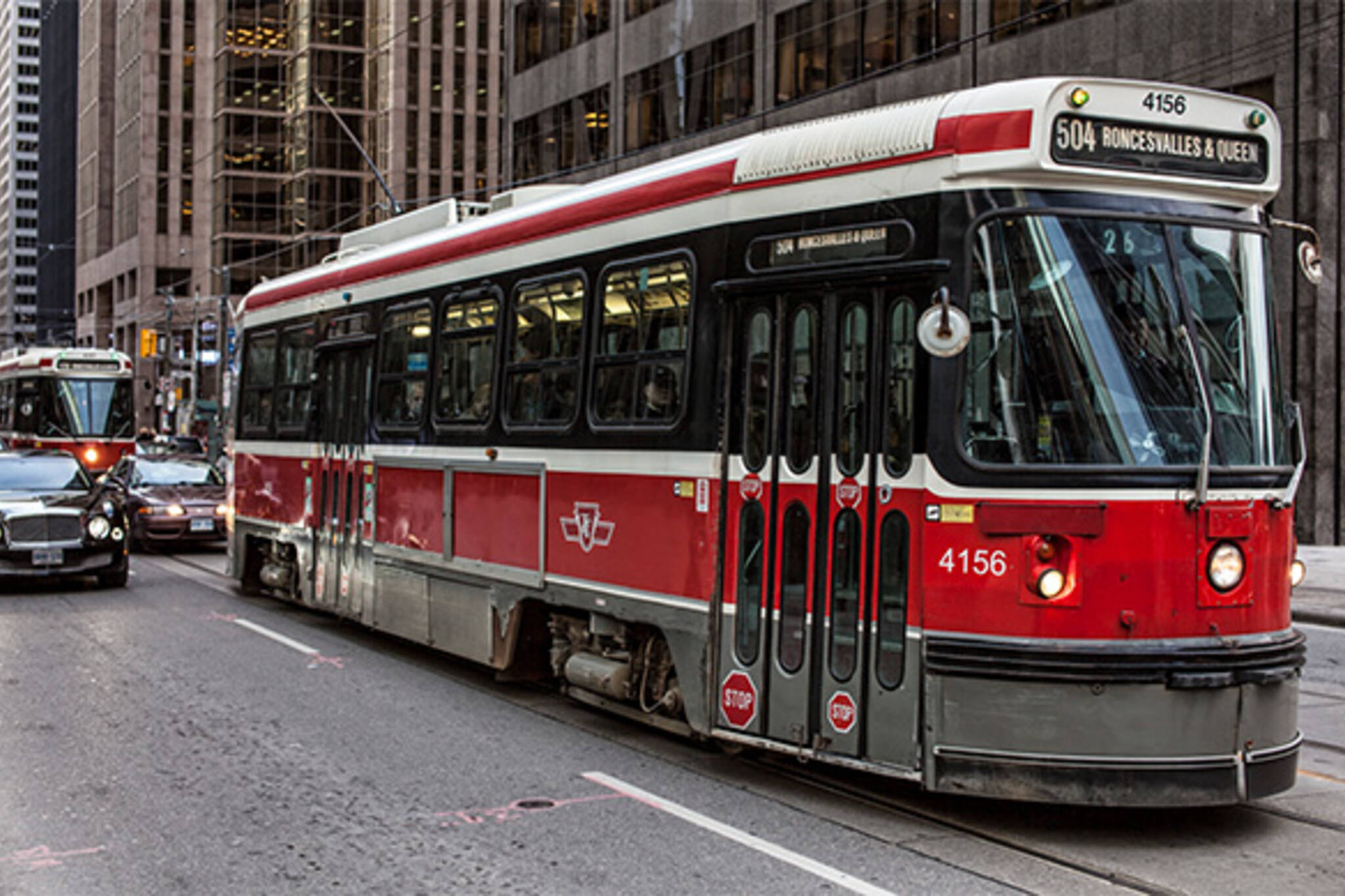 TTC streetcar presto