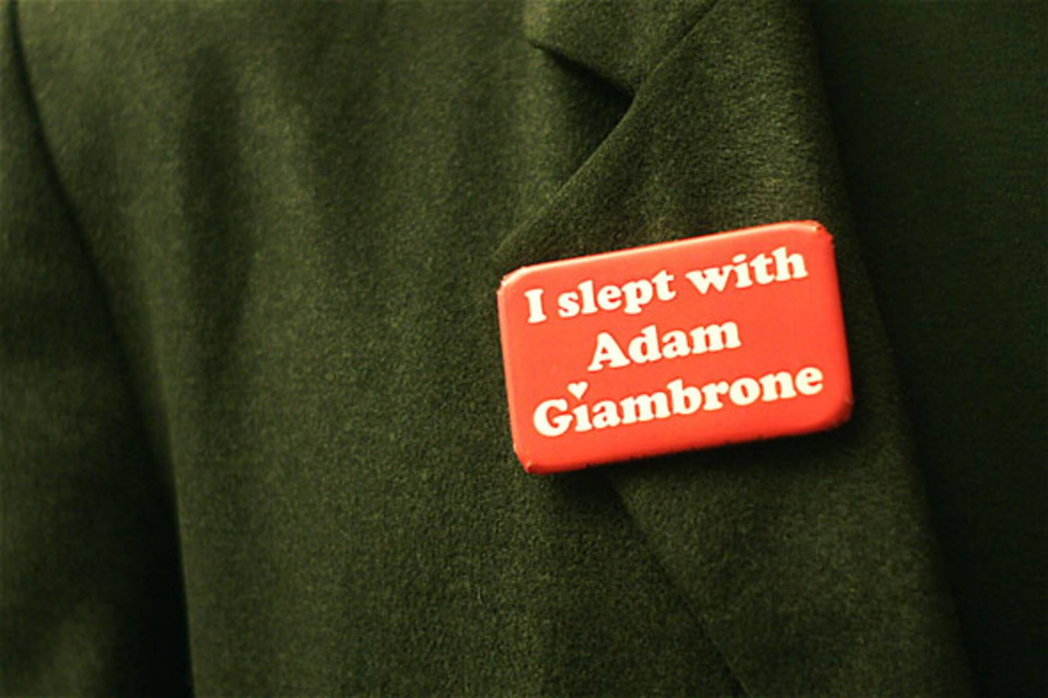 I Slept With Adam Giambrone