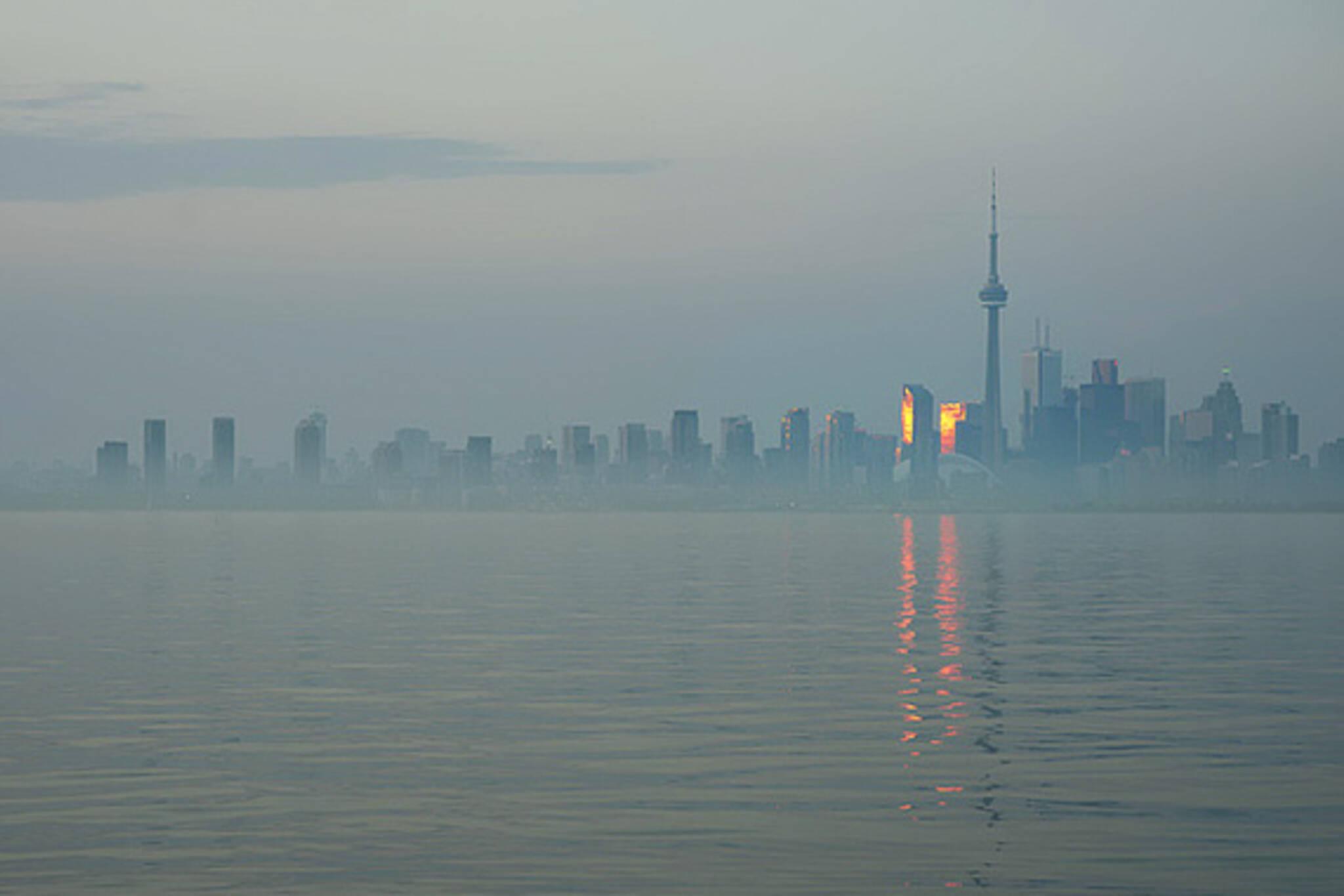 Toronot Haze Skyline