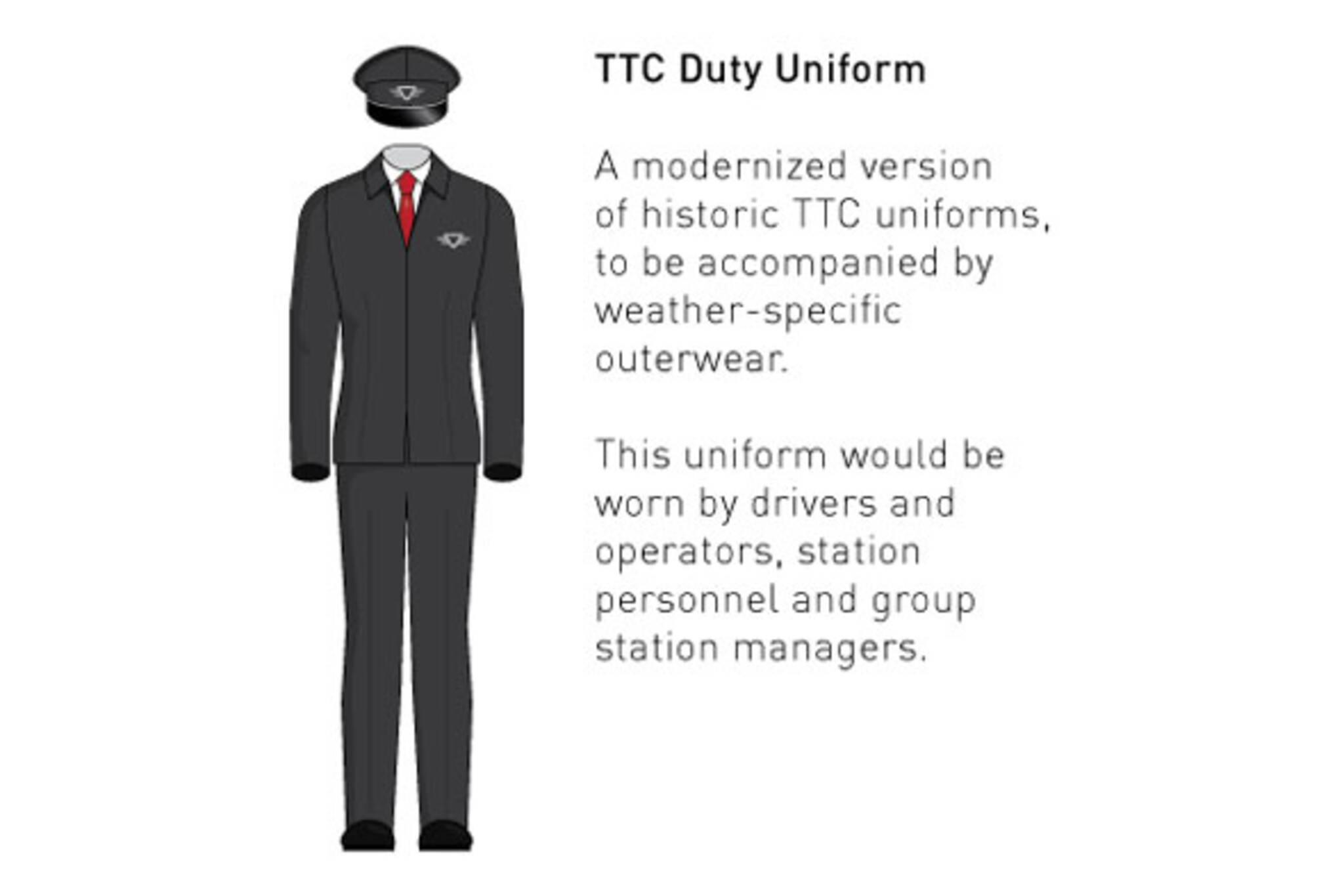 toronto ttc uniform