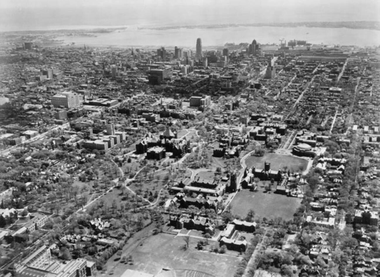 Aerial Photographs Of Toronto From The 1920s To 1980s