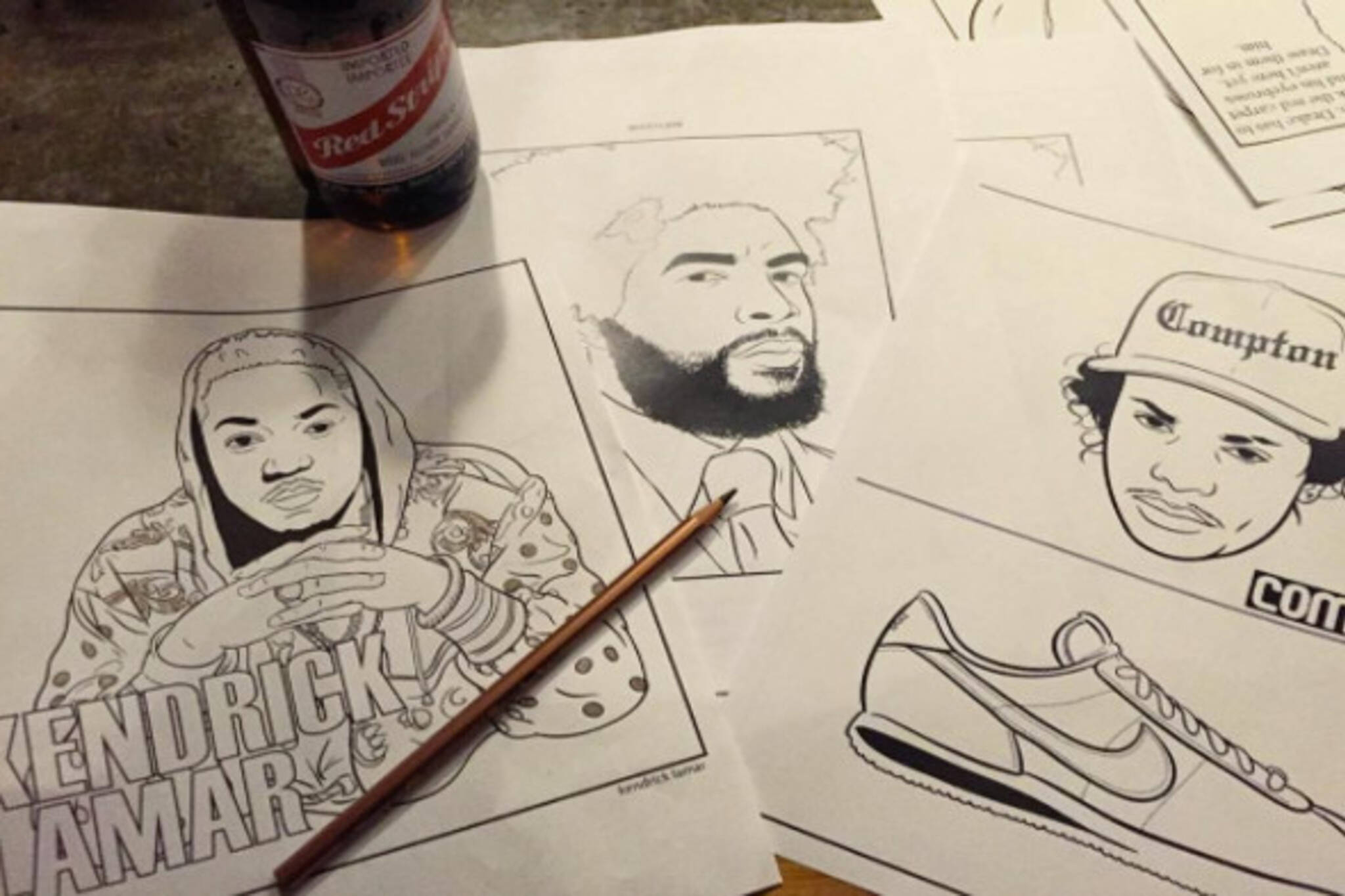 Hip Hop Colouring Night
