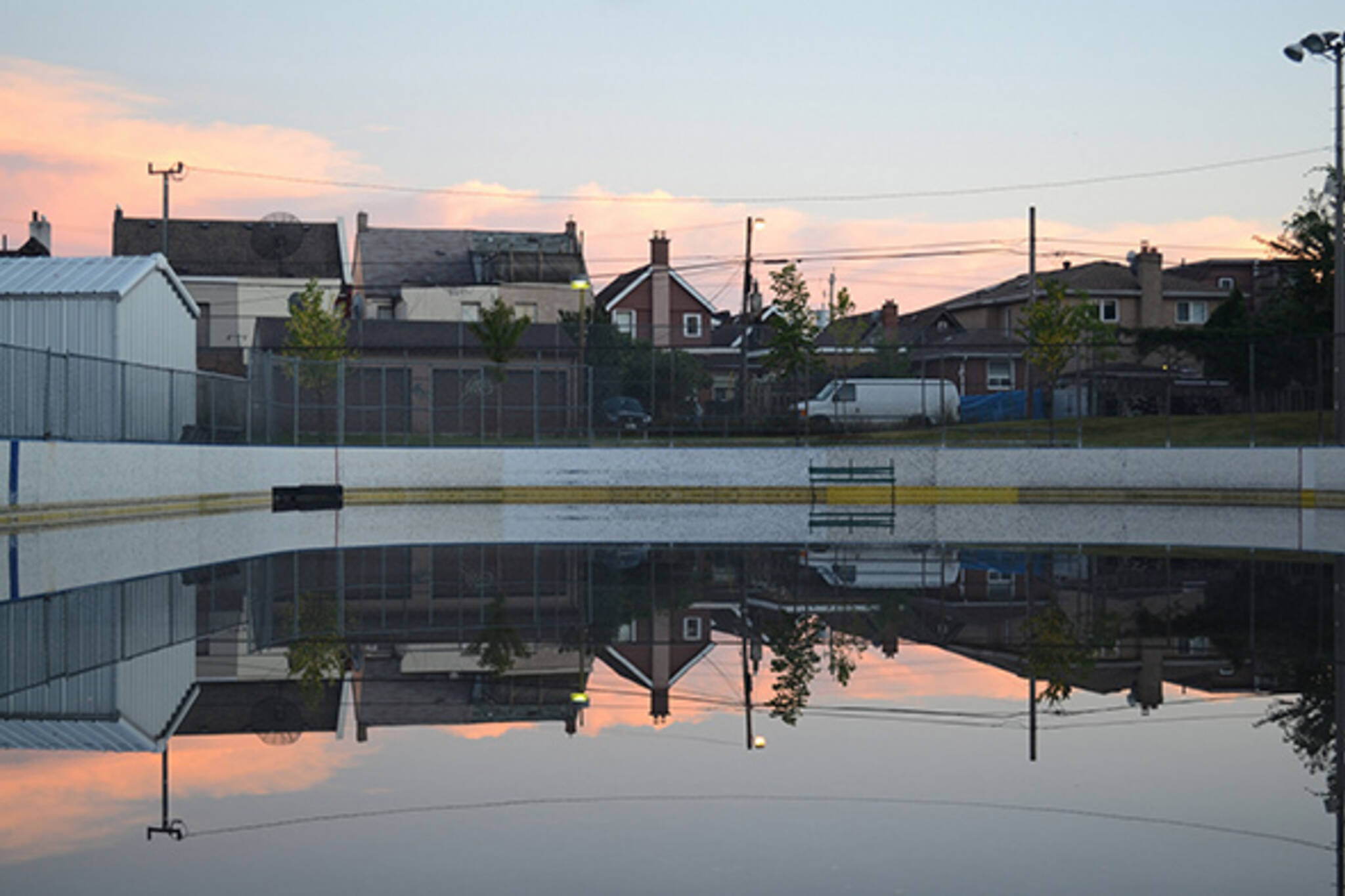 wallace hockey rink