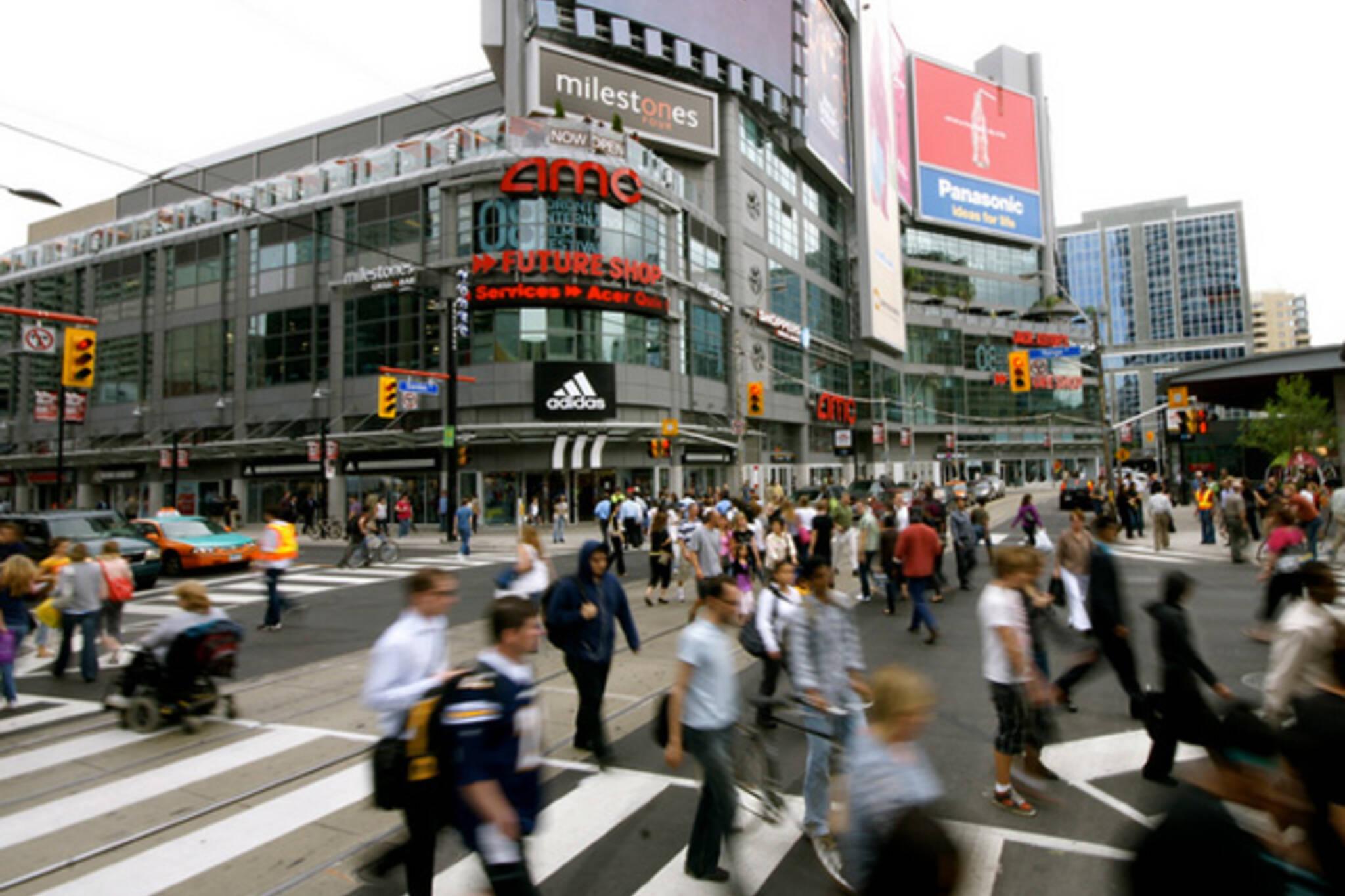 Scramble Intersection Toronto