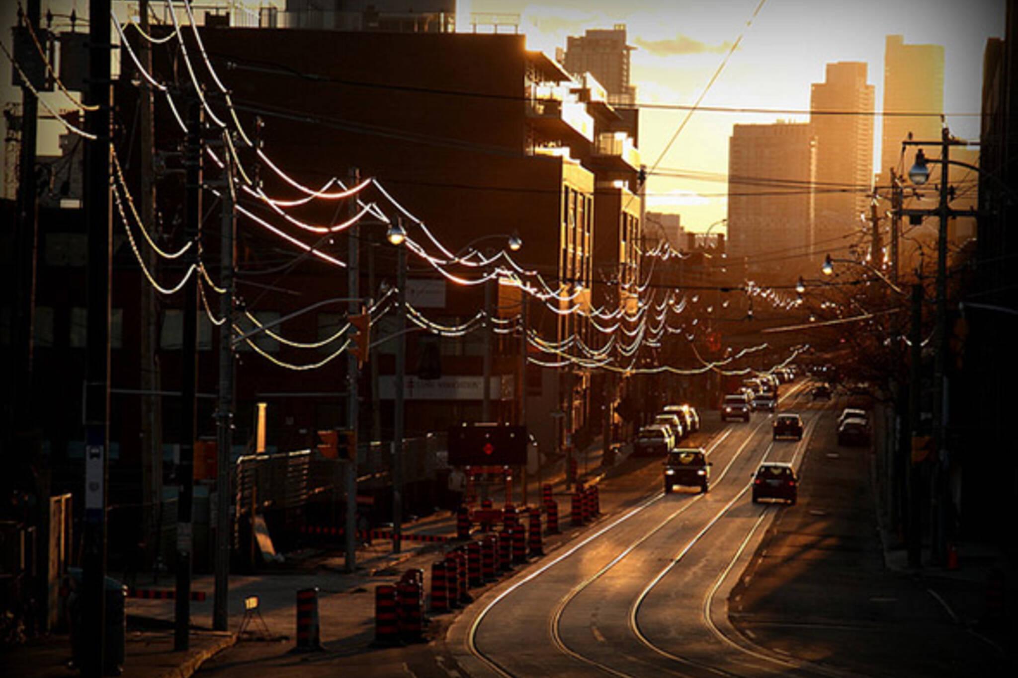 king street sunset