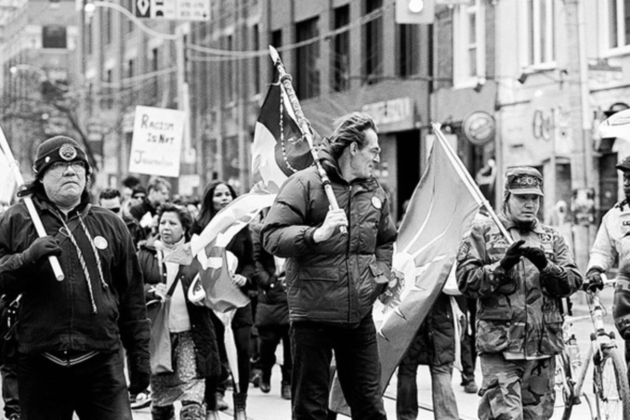 Native Protest Toronto Sun