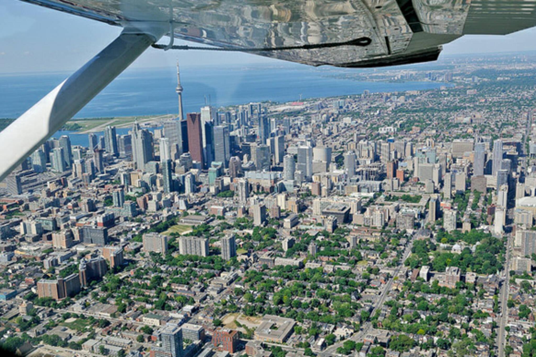 Toronto aerial