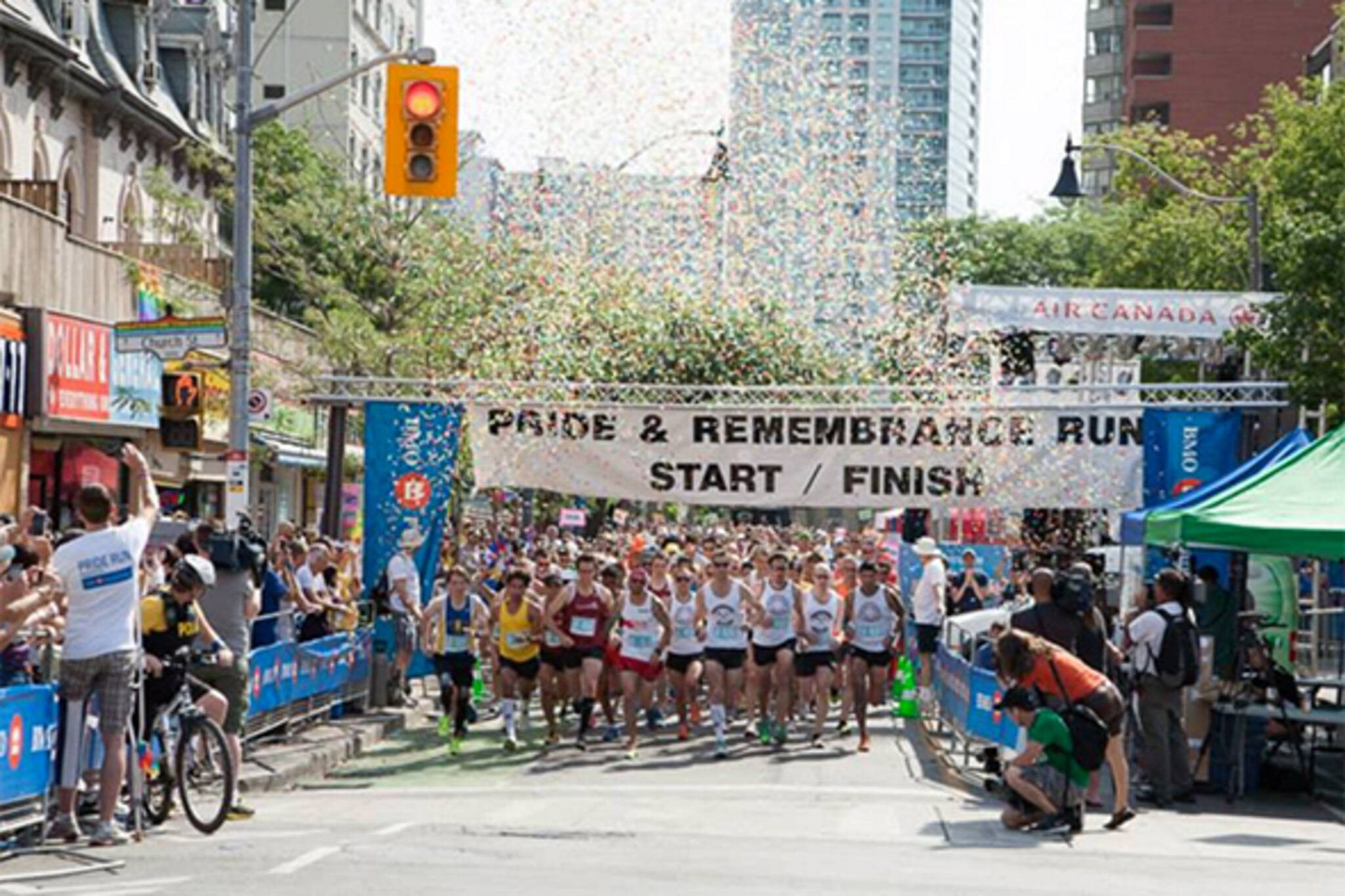 summer running events toronto