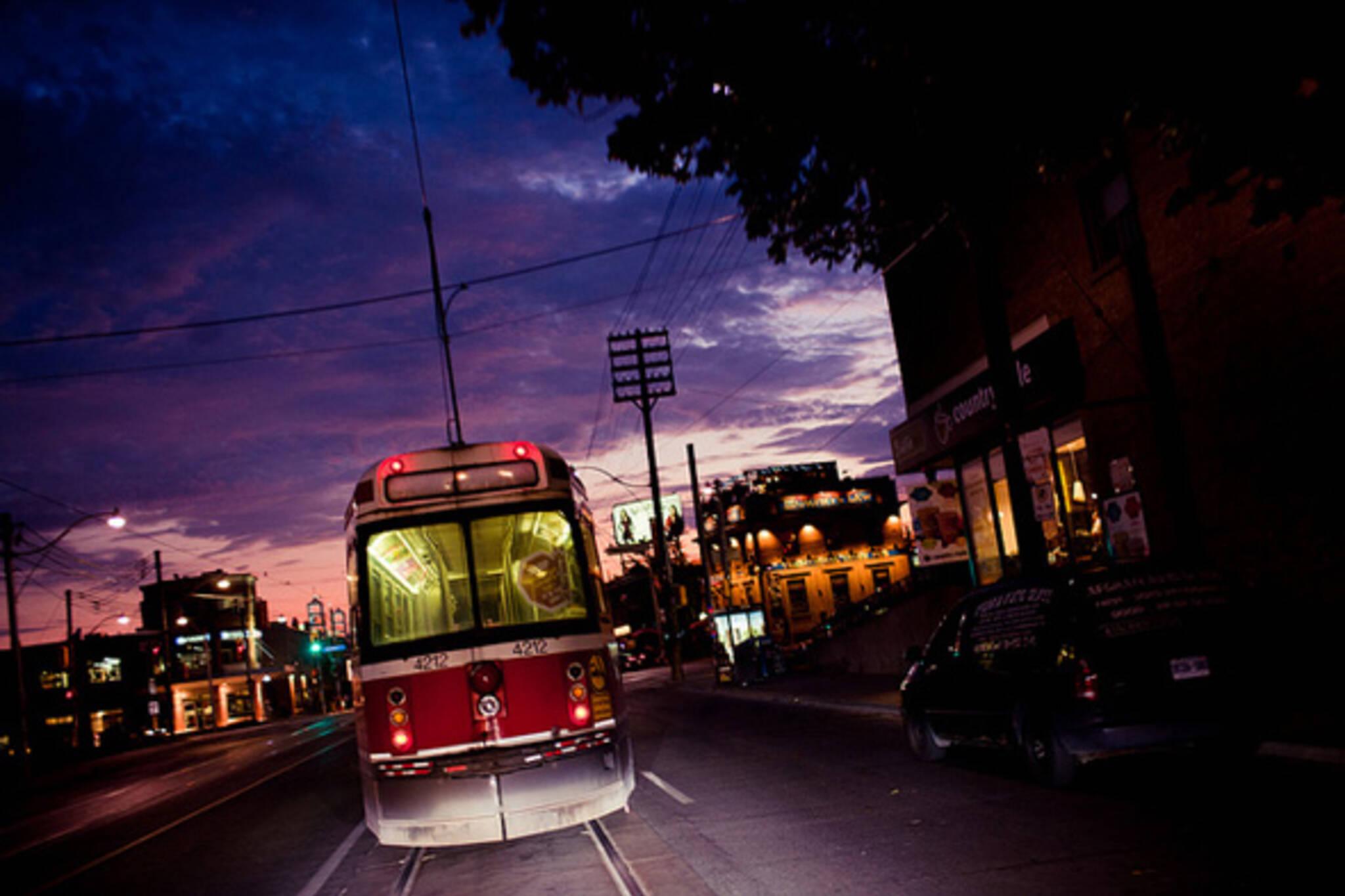 ttc, streetcar, toronto