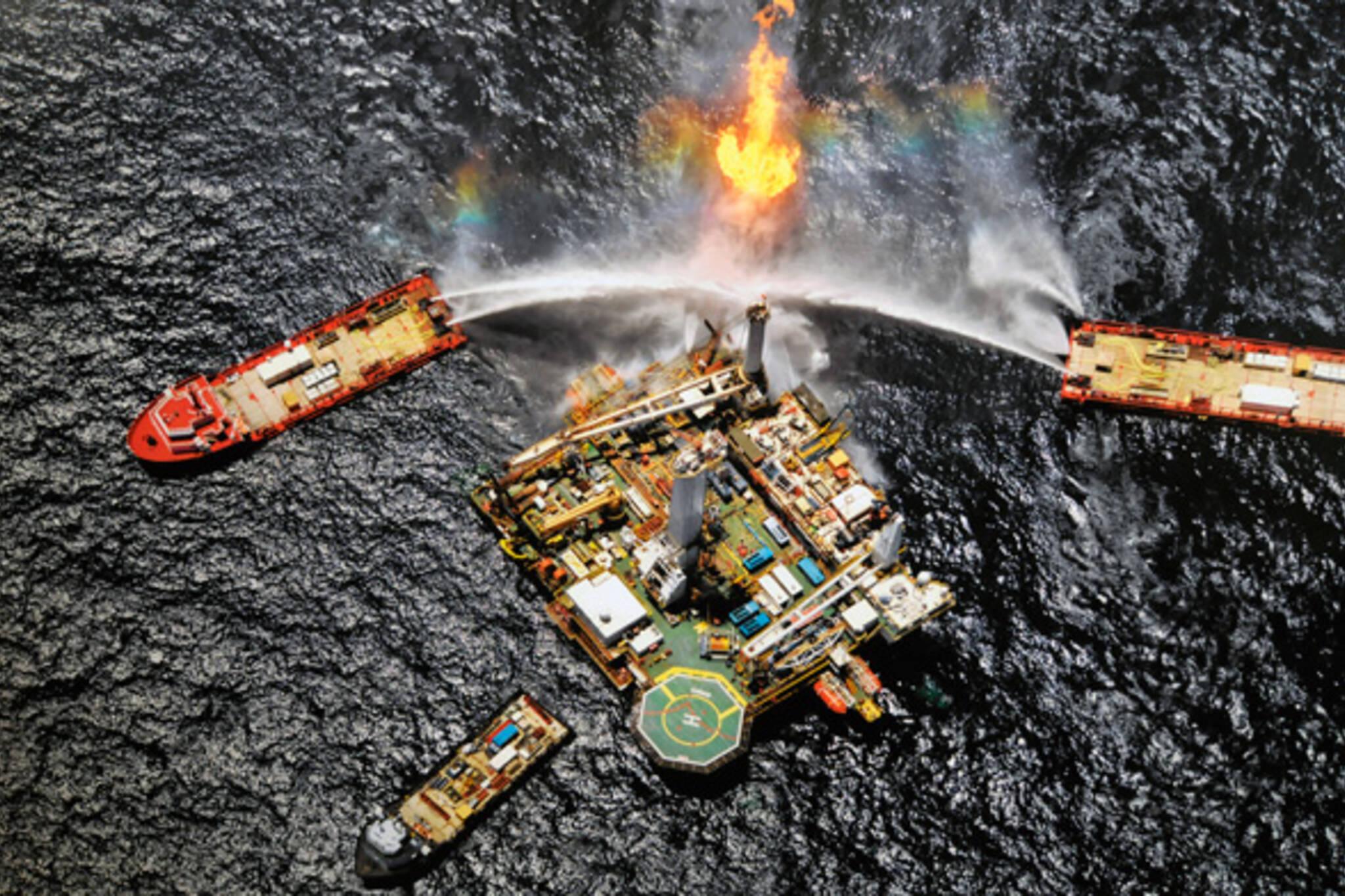 Edward Burtynsky Oil Spil