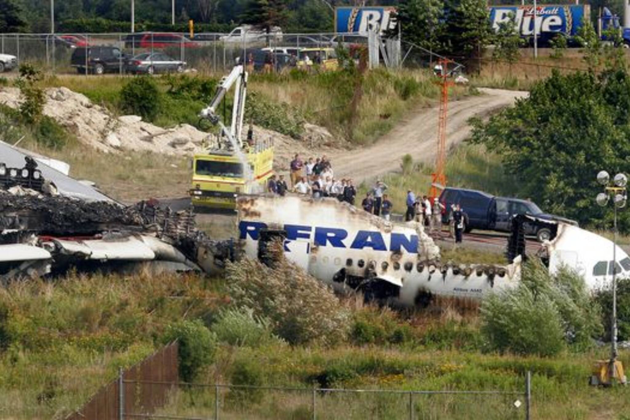 Air France Flight 358 Crashes in Toronto