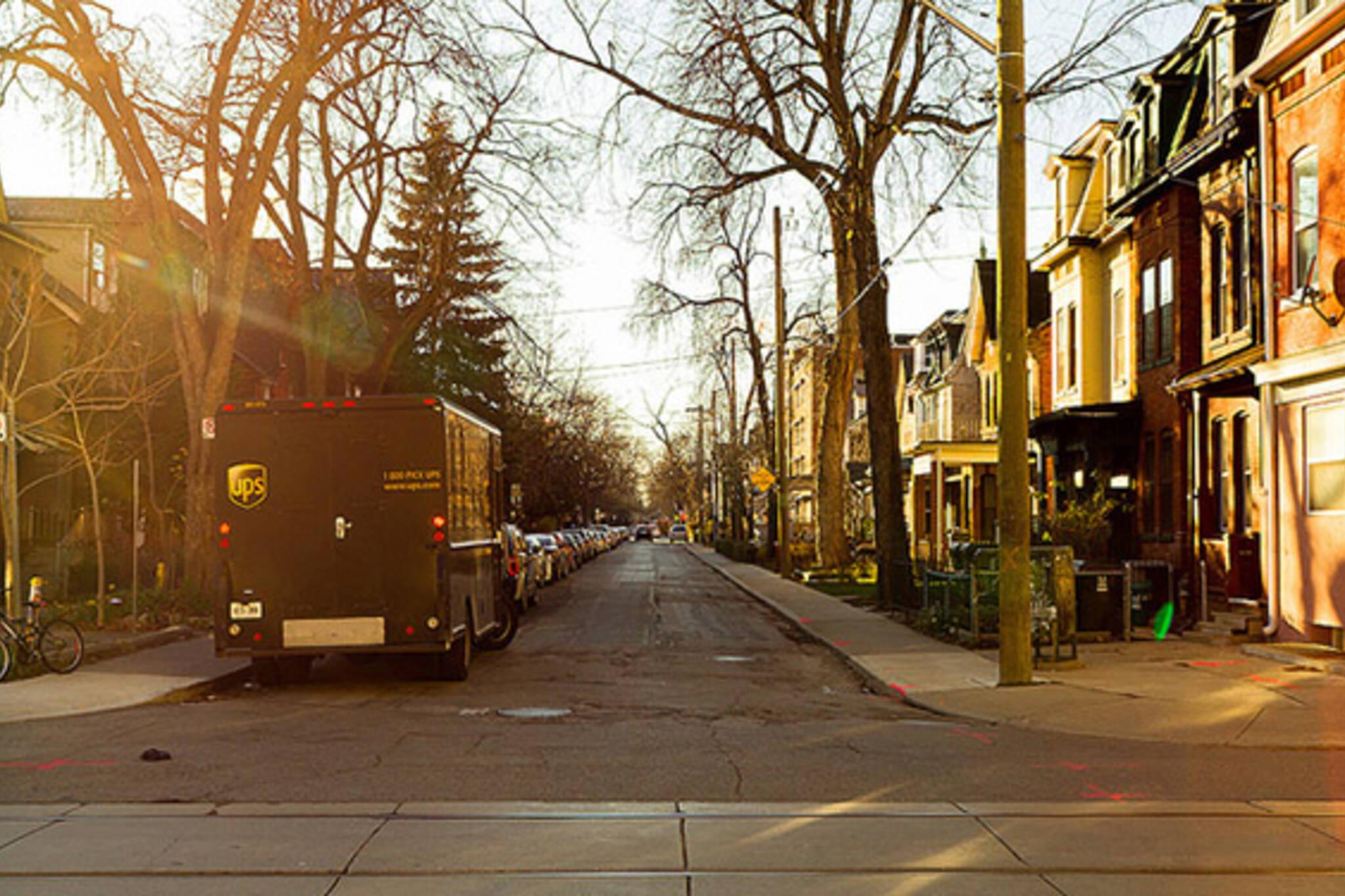 sun, street, road