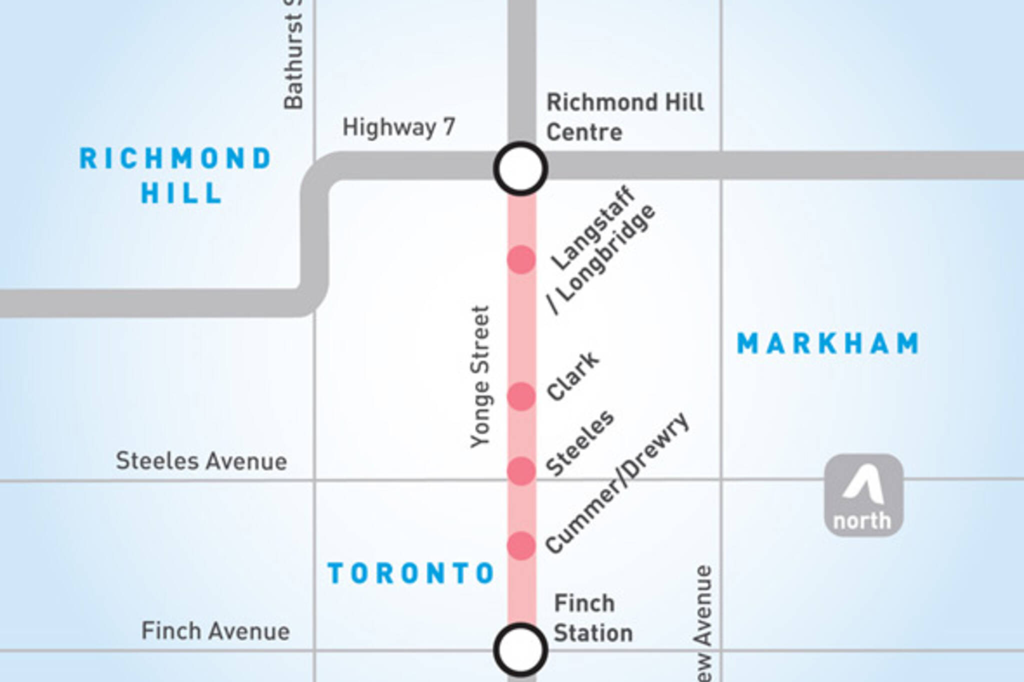 yonge subway extension