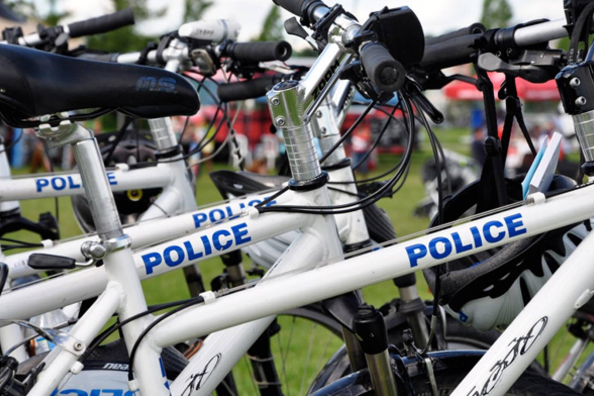 police bike toronto