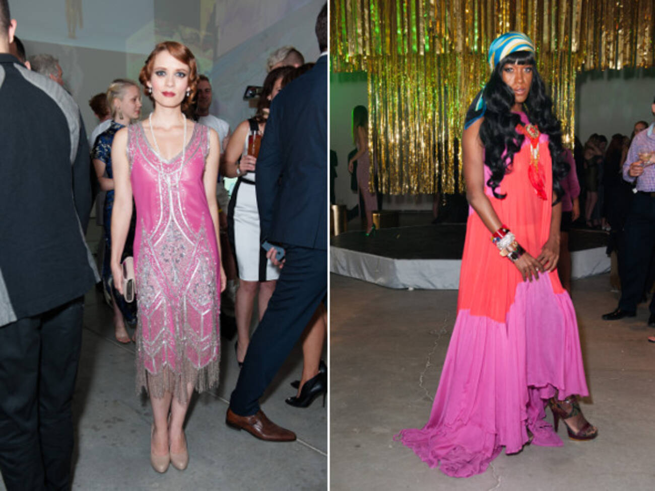 20 Retro And Modern Party Looks From PowerBall 2014