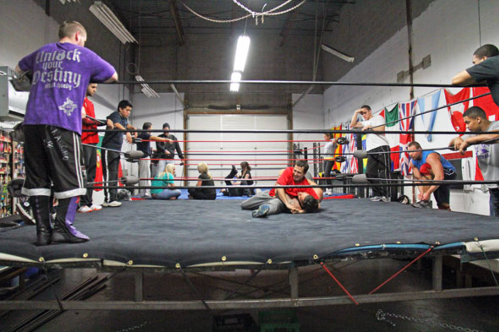 Wrestling Gym Toronto
