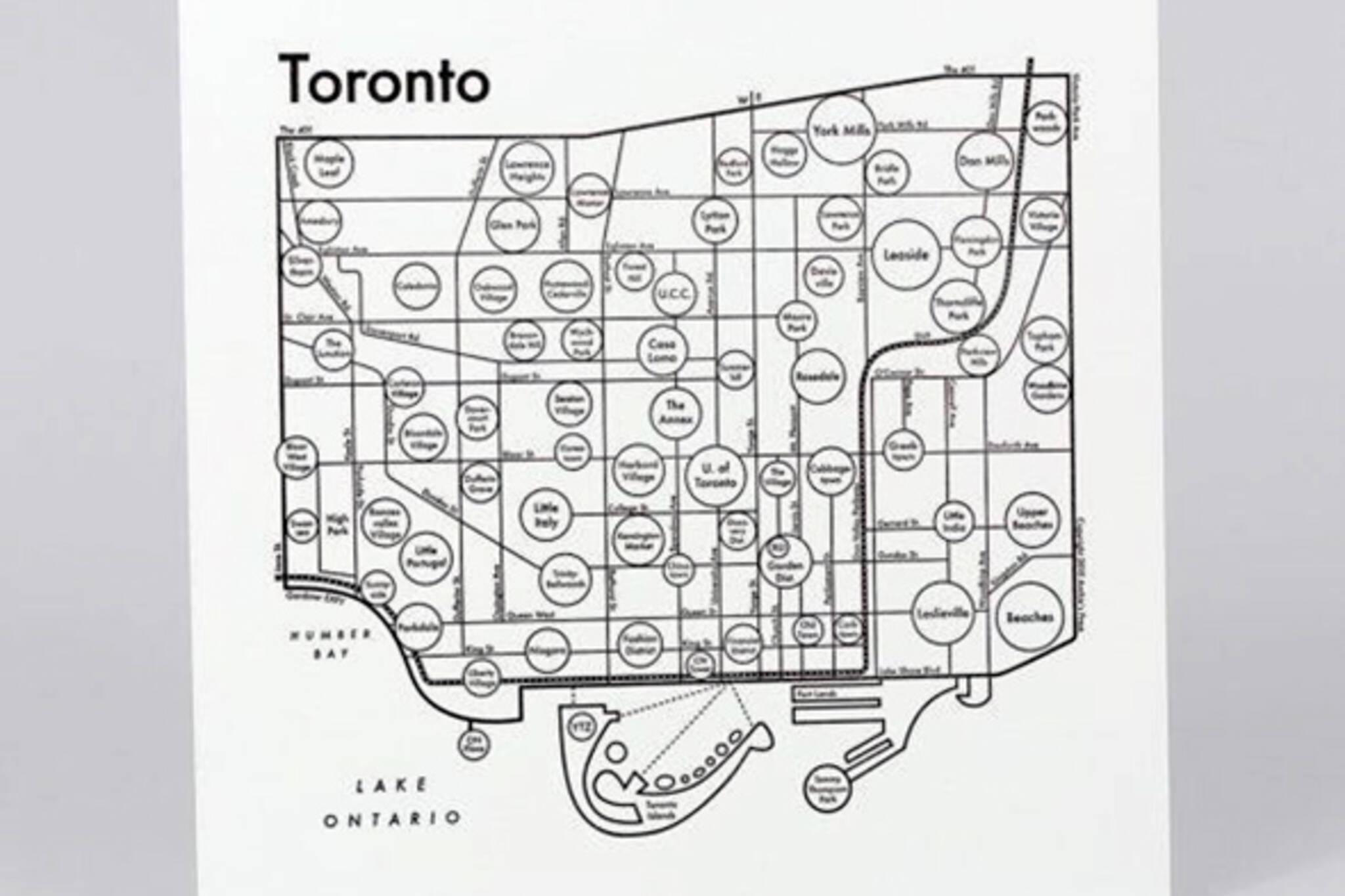 toronto mind map