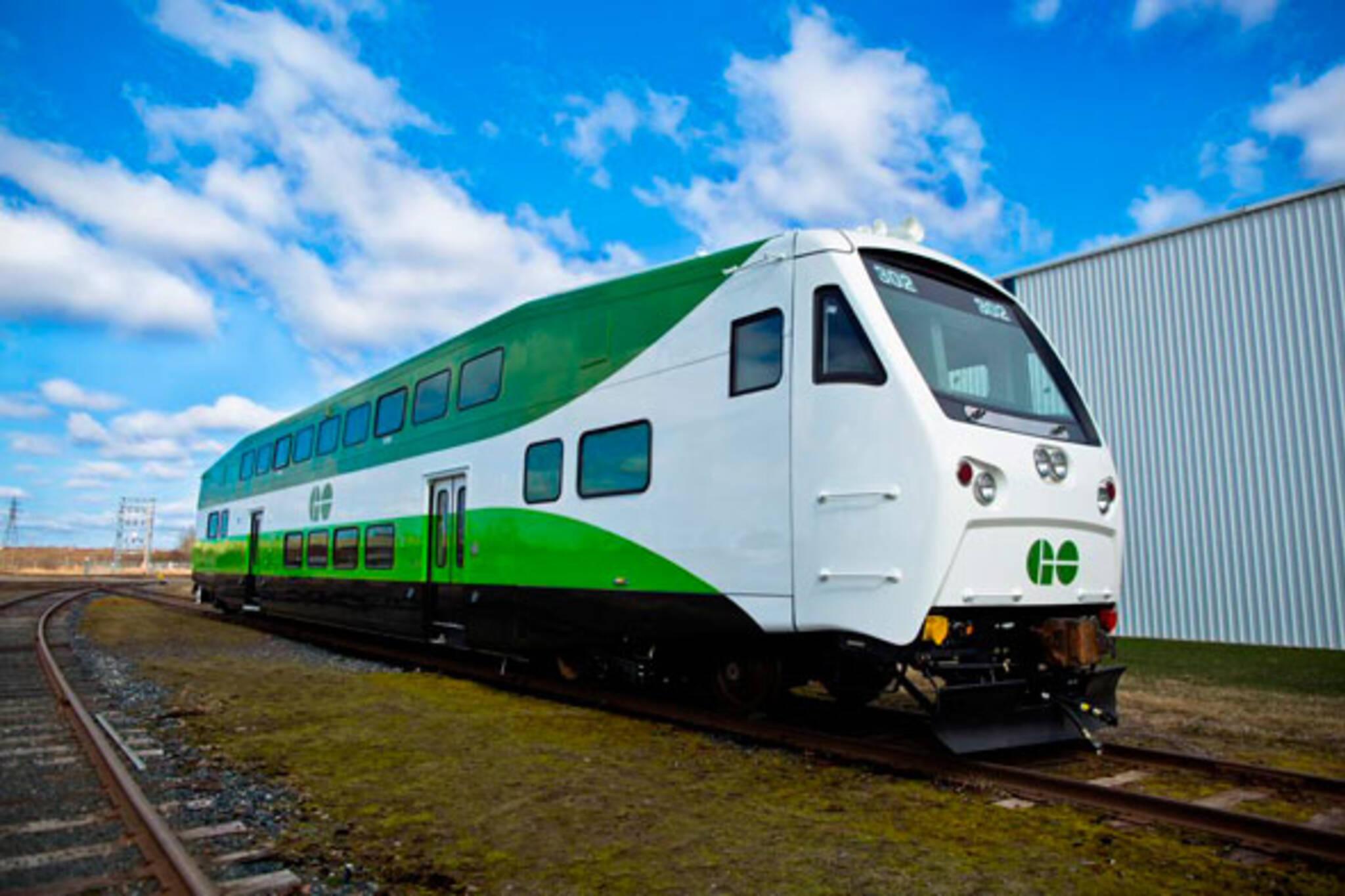 toronto new go train