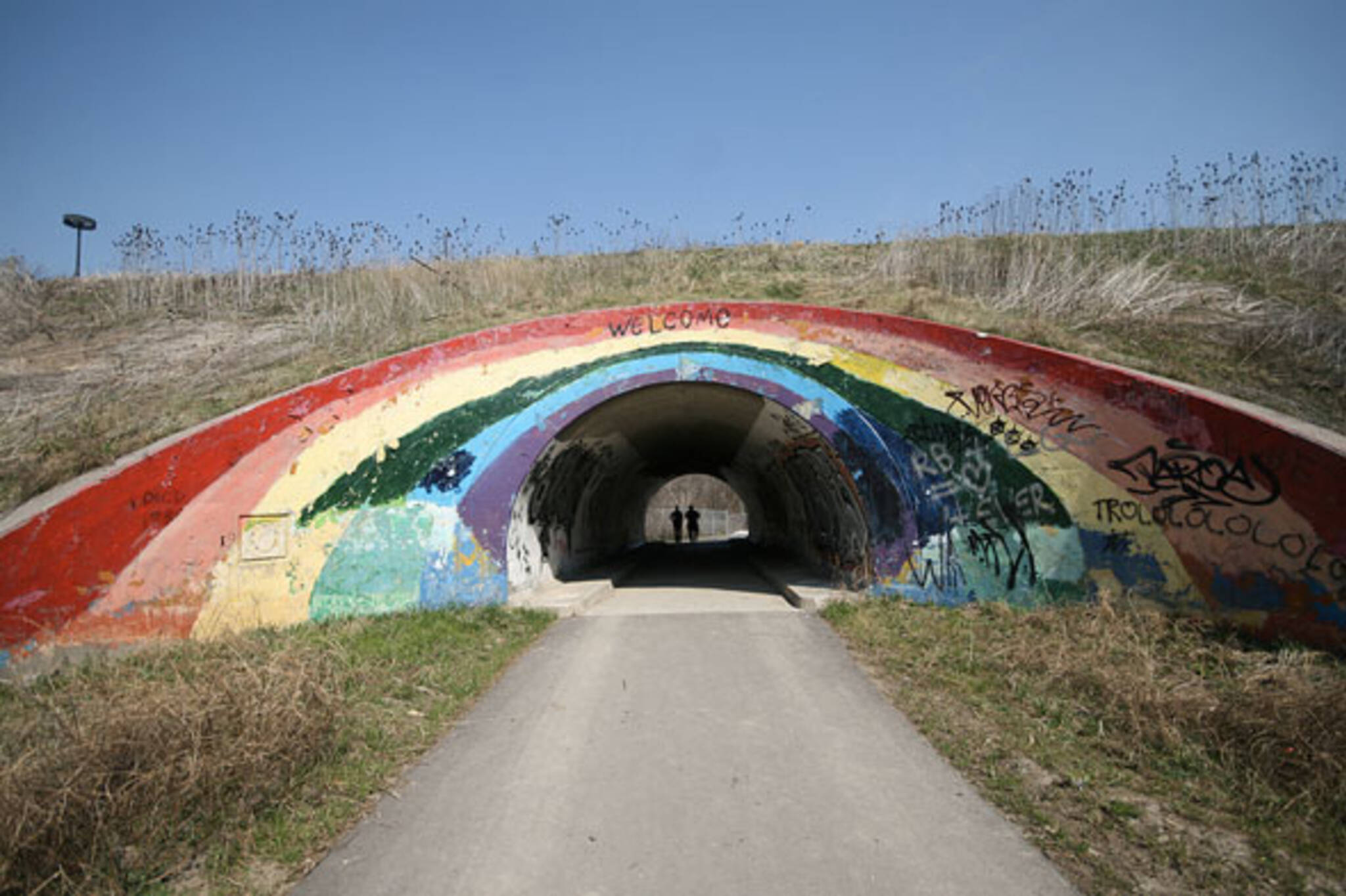 toronto don valley rainbow