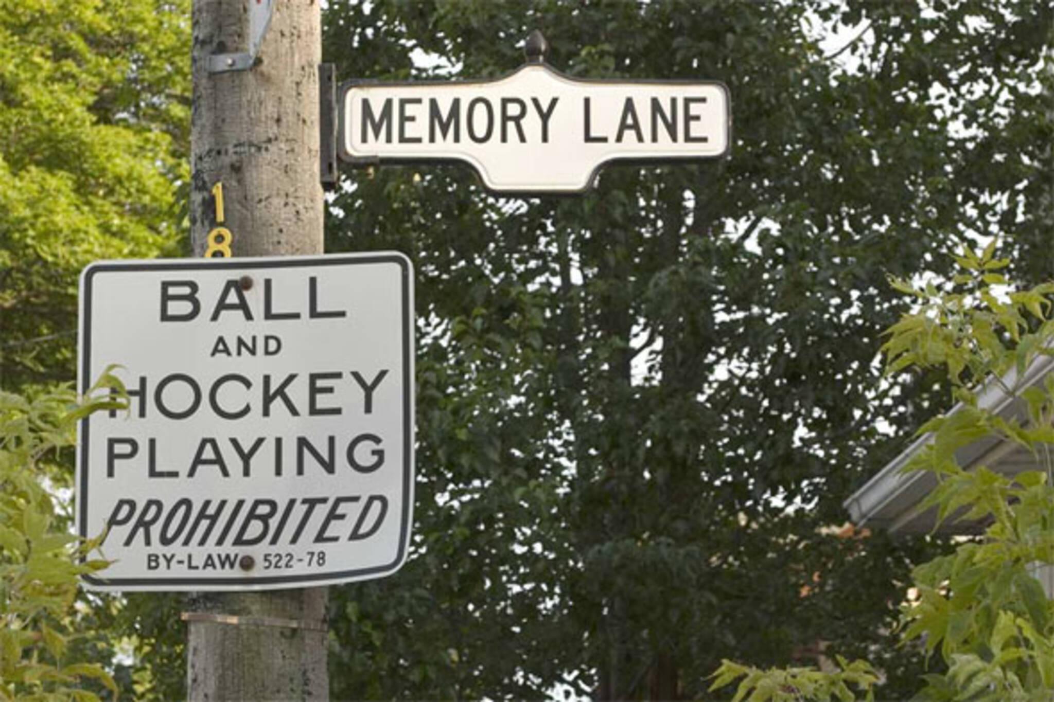 memory lane toronto