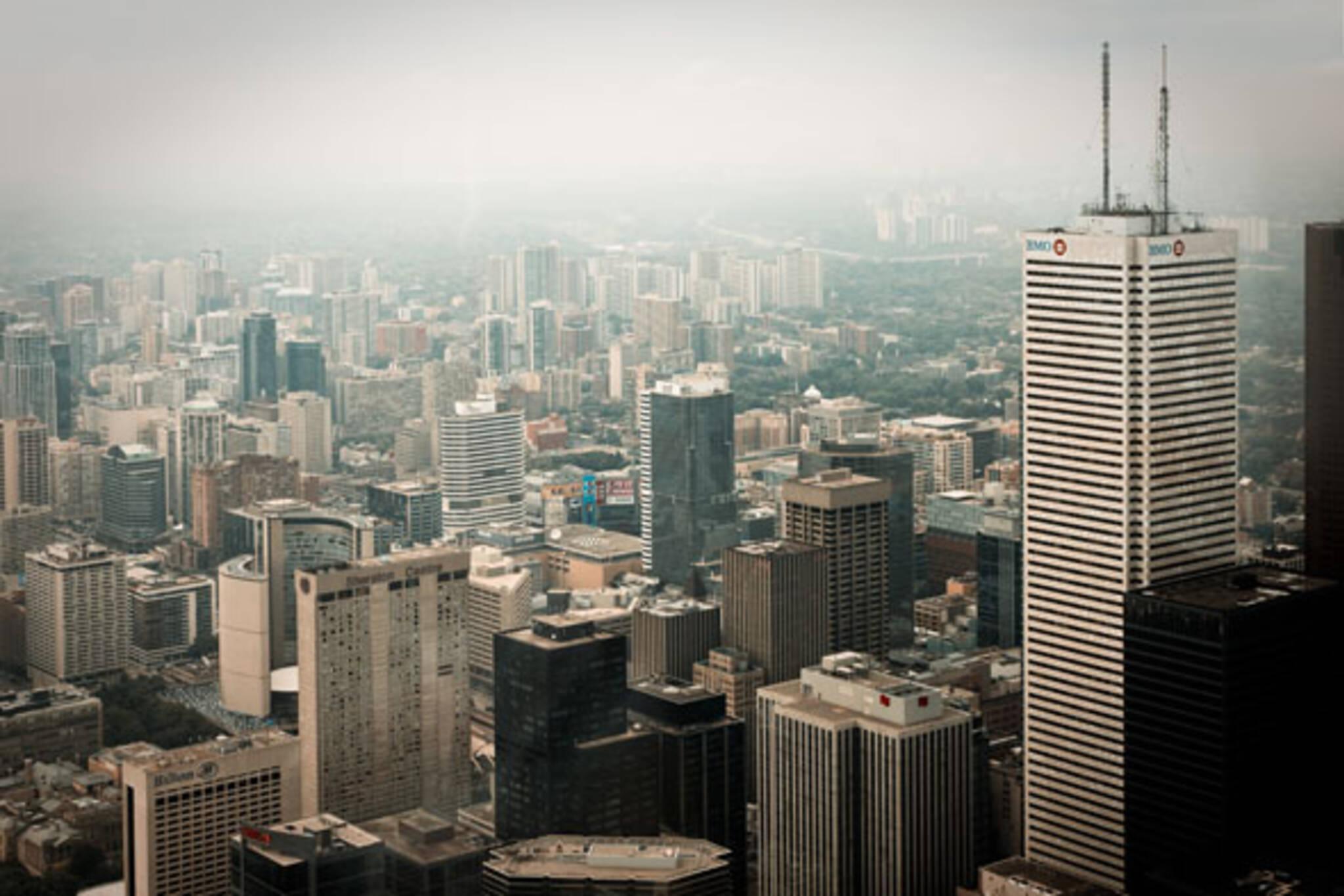 Toronto Fog BMO building
