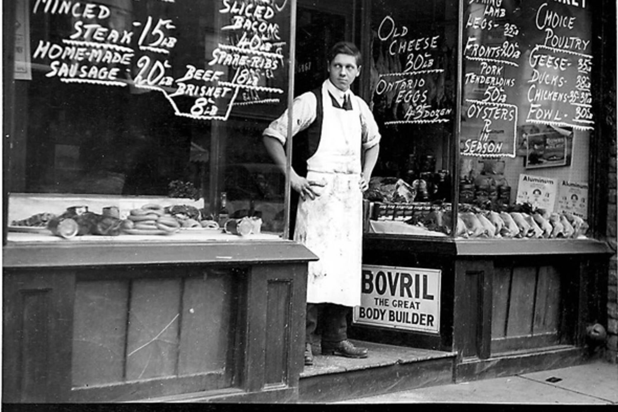 History Butcher Shops Toronto