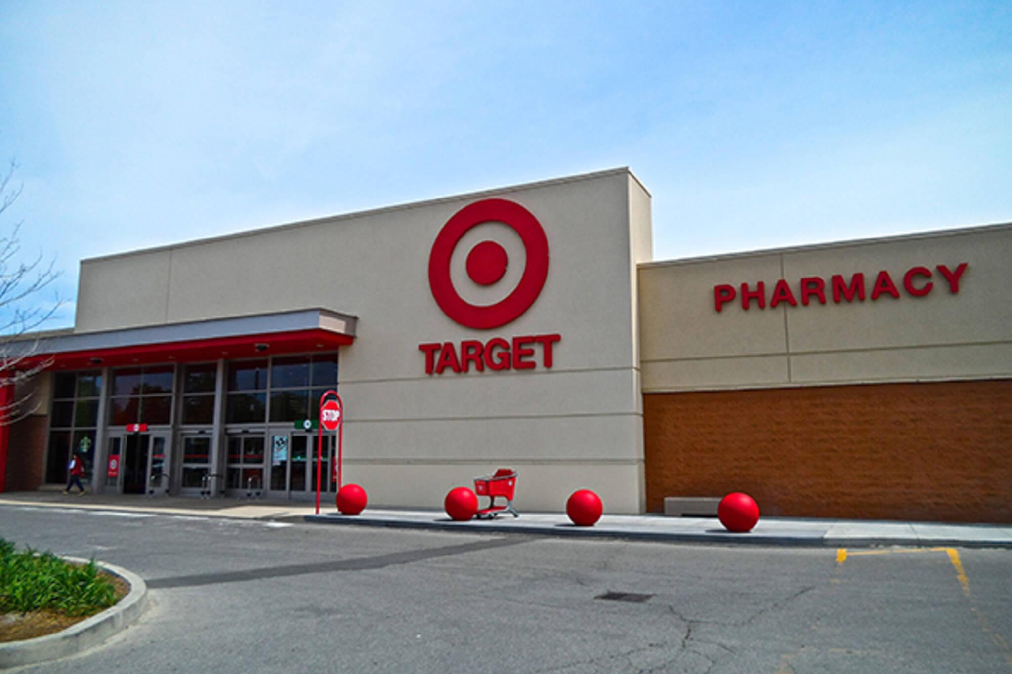 target malls toronto