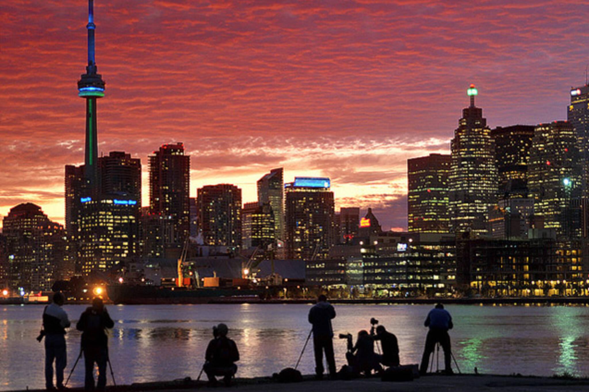 September Sunset Toronto
