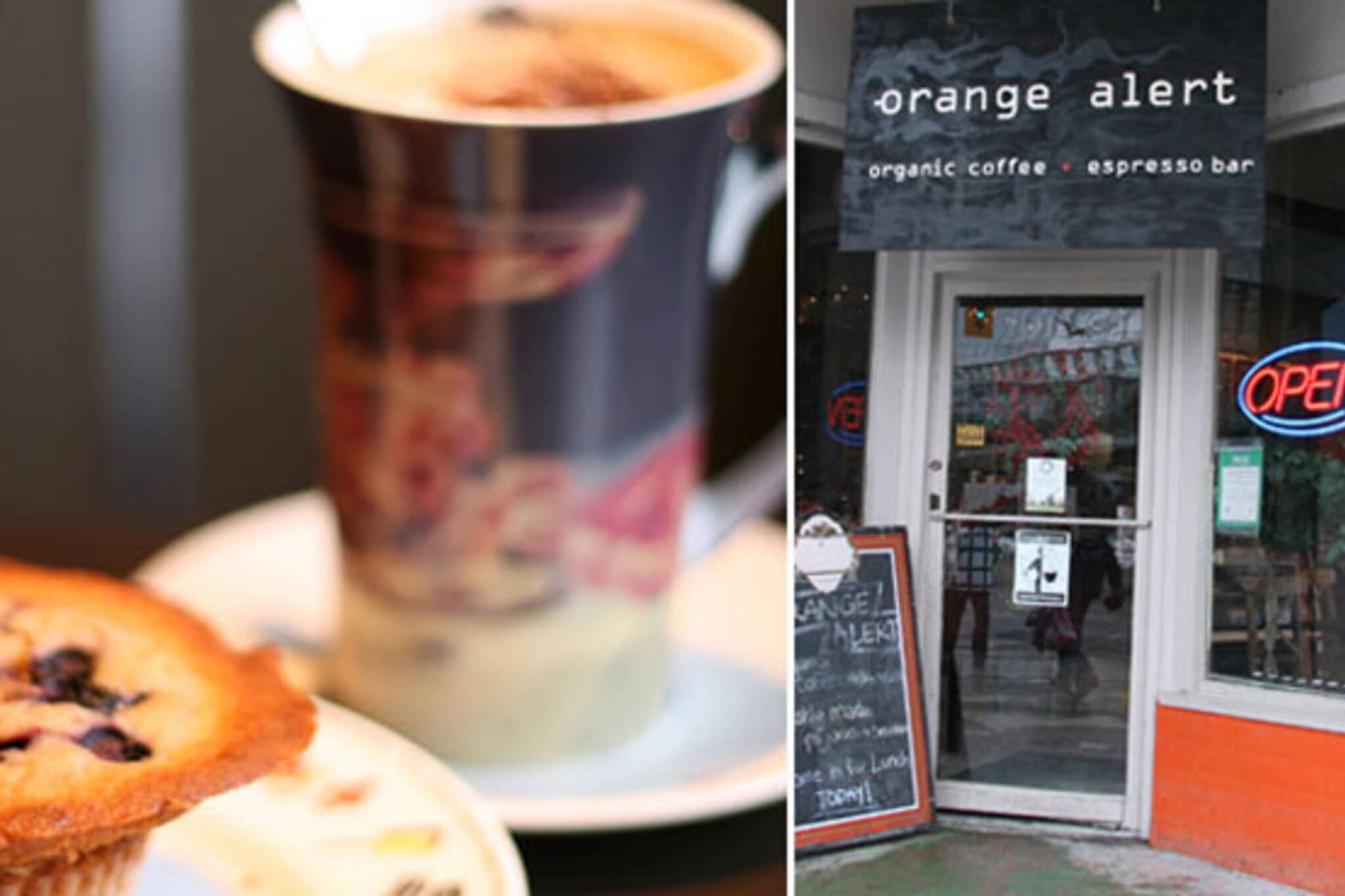 orange alert cafe