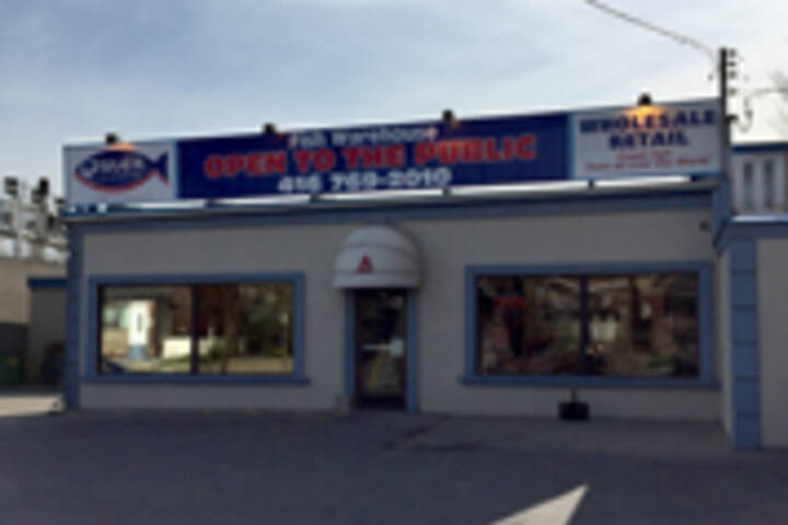 The best fish stores in toronto for Fishing factory outlet