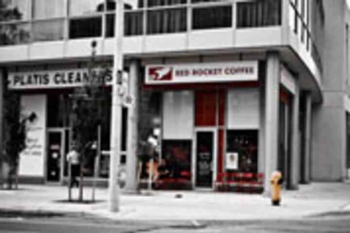 Red Rocket Coffee on Wellesley