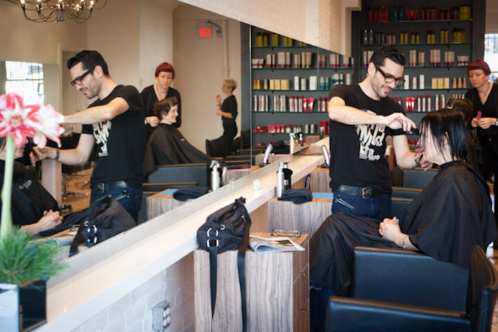 The best hair salons in toronto for Hair salons open near me