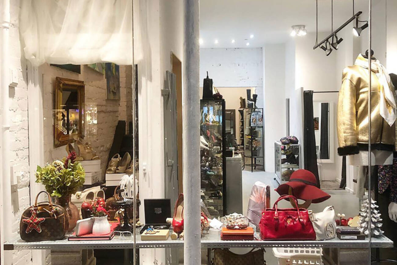 ... this consignment store on West Queen West isn t limited to luxury  brands 2d0feb2e37954
