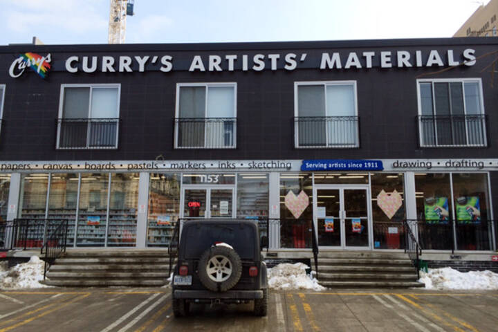 Curry's Artists' Materials West Queen West