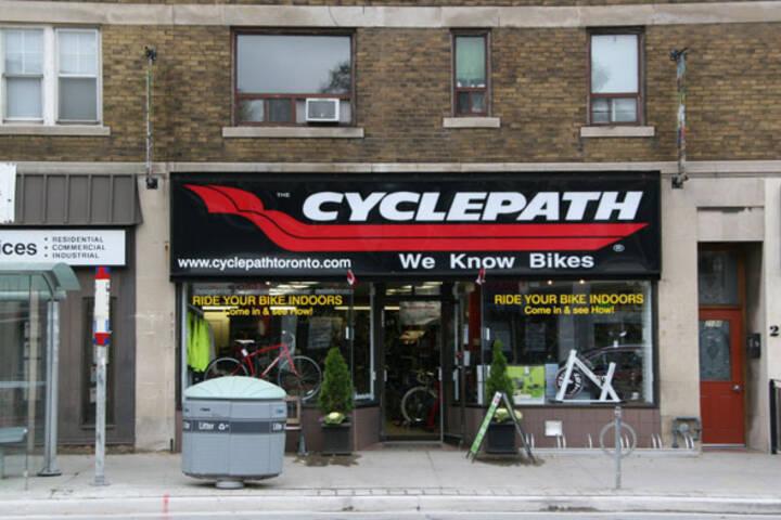Cyclepath Yonge and Davisville